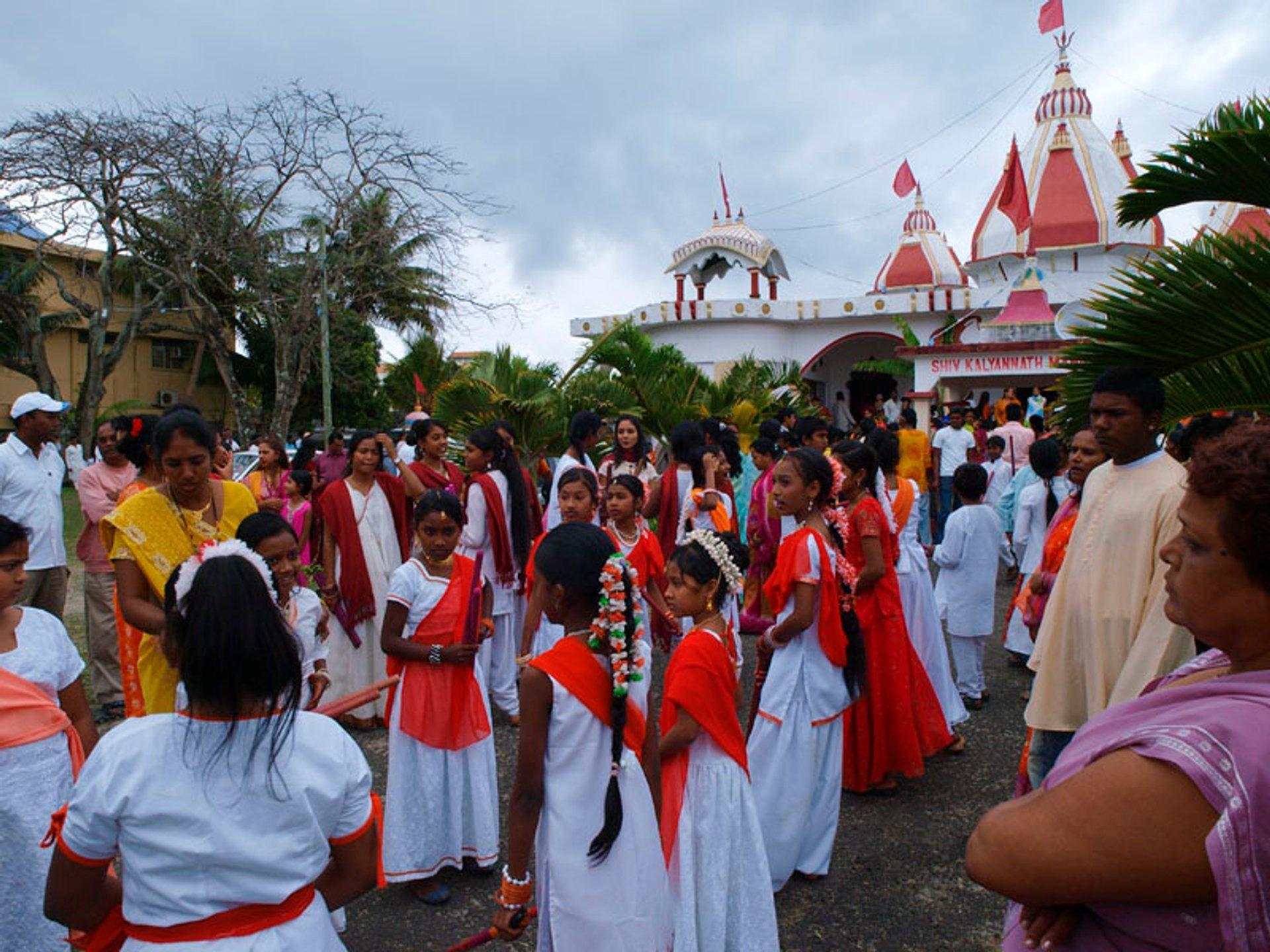 Shiv Kalyan Vath Mandir, Grand Baie, Mauritius 2020