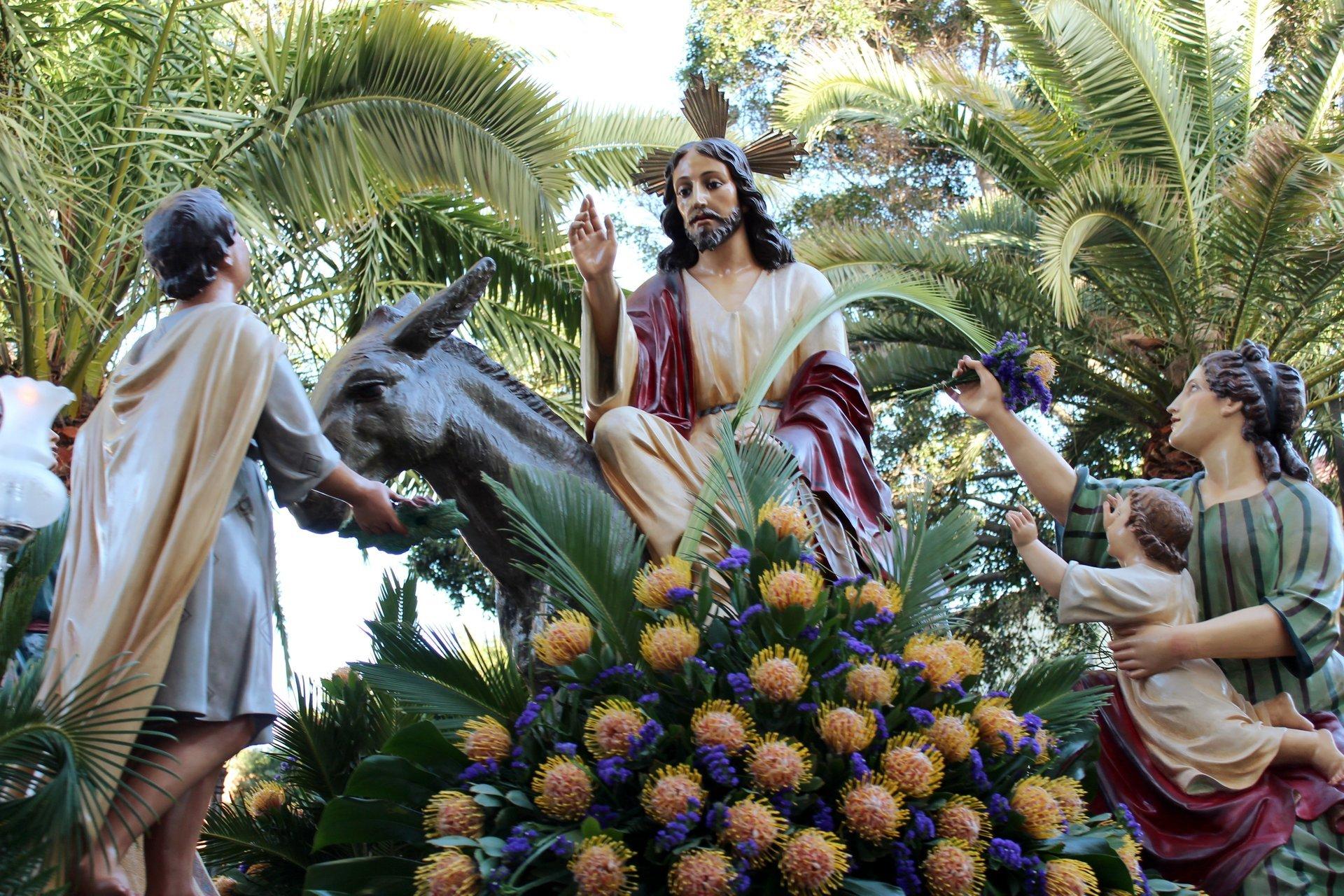 Procesión Magna in Güímar, Viernes Santo (Good Friday) 2020