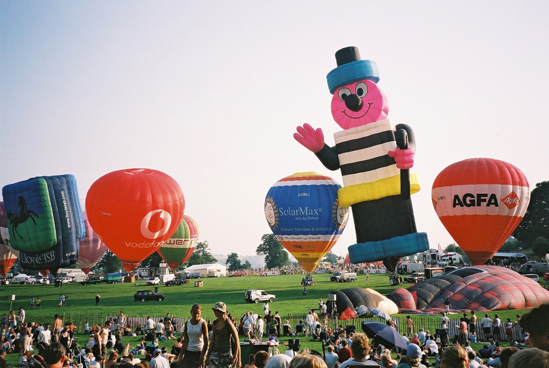 Best time for Bristol International Balloon Fiesta 2019