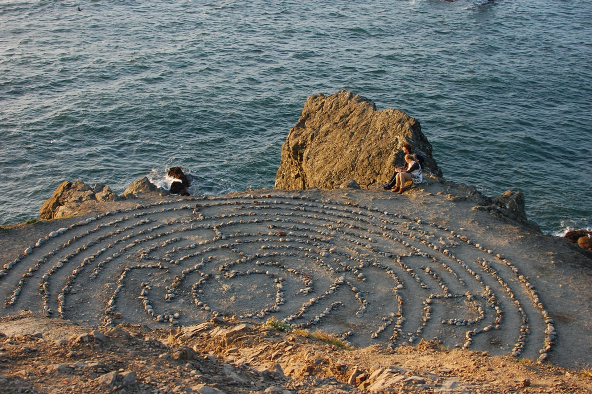 Land's End Labyrinth in San Francisco - Best Season
