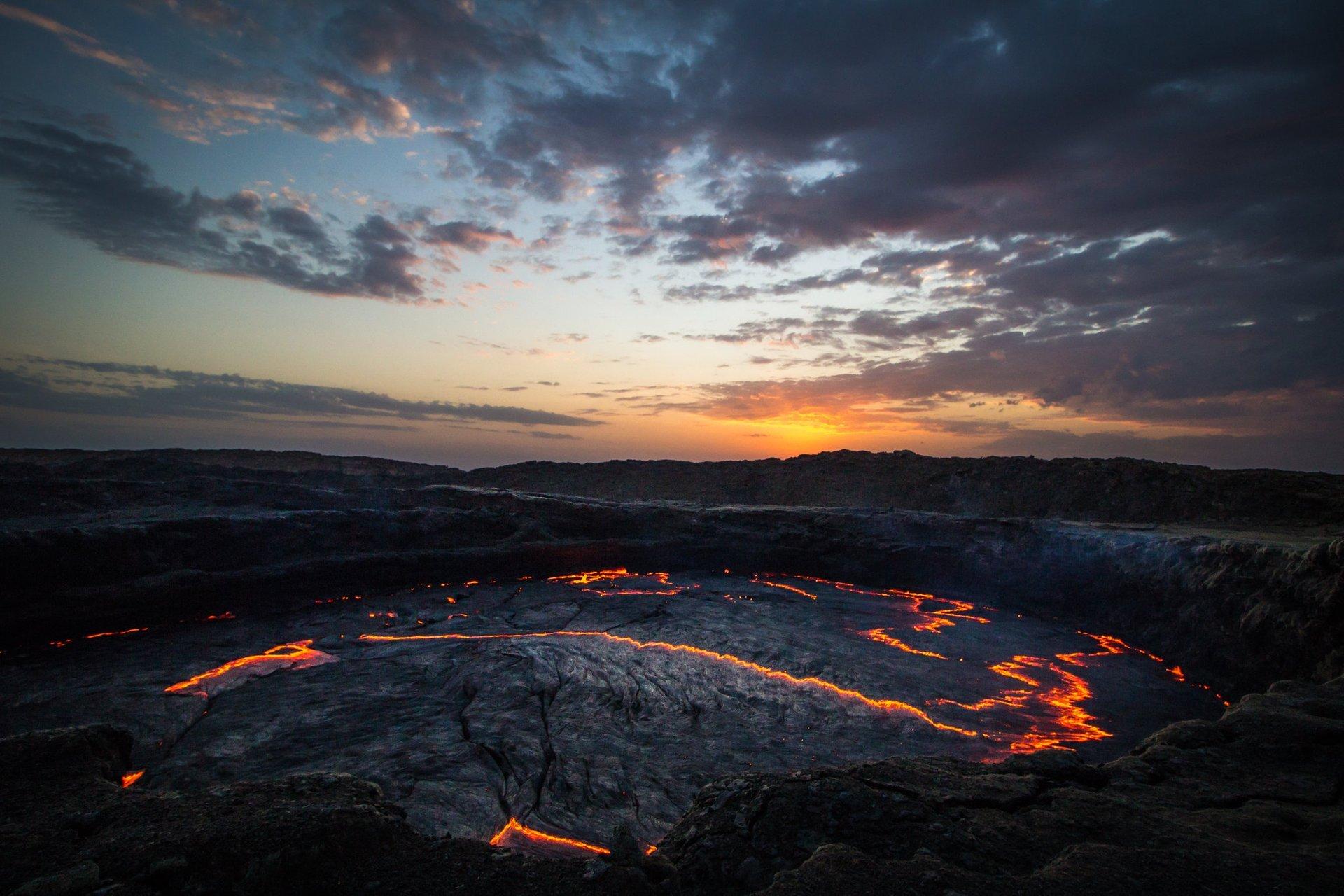 Erta Ale. Volcano. 2020