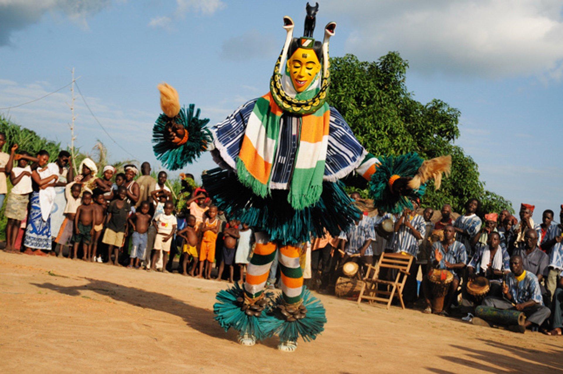 Zaouli Dance (Zaouli de Manfla) in Ivory Coast 2020 - Best Time