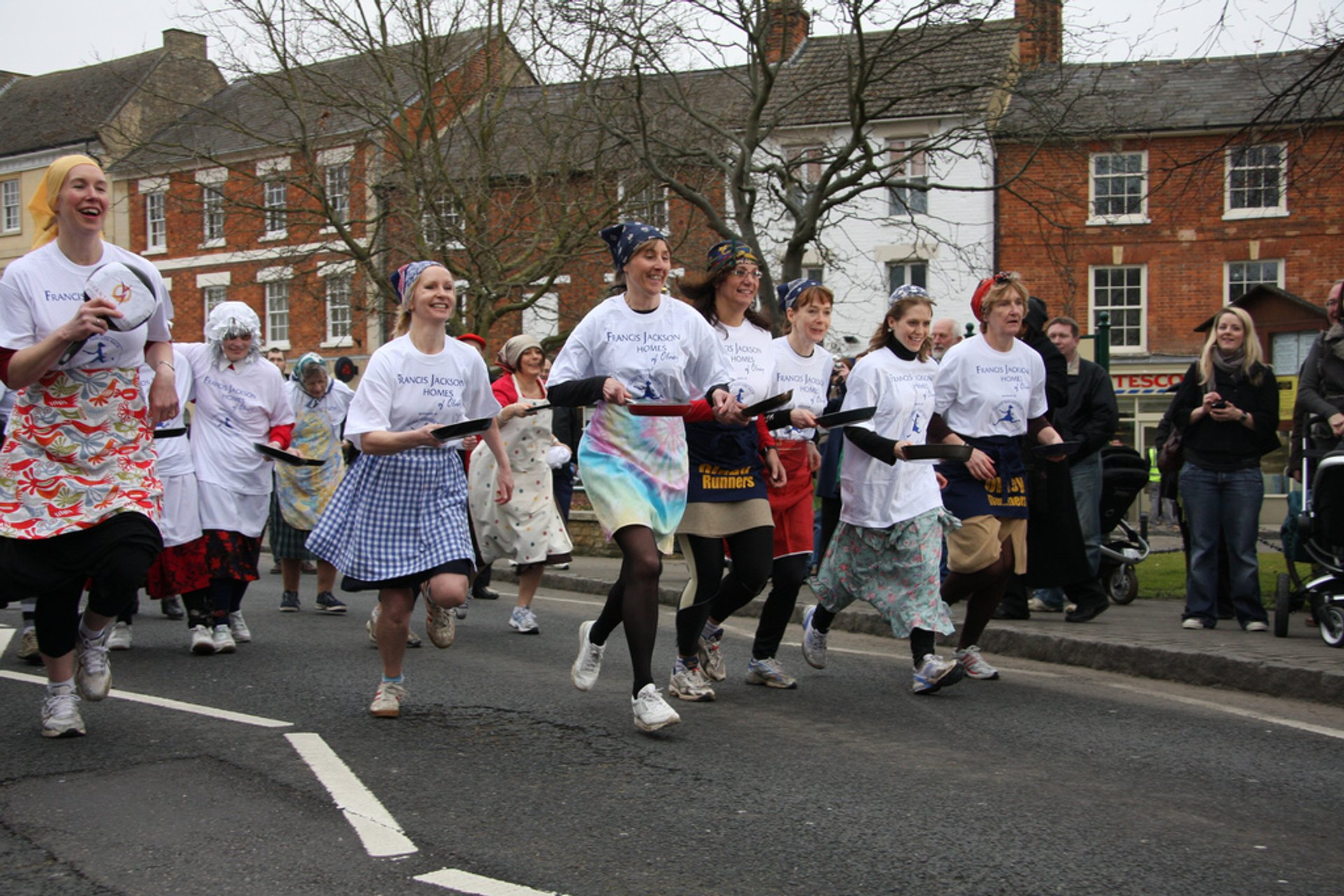 Olney Pancake Race 2020