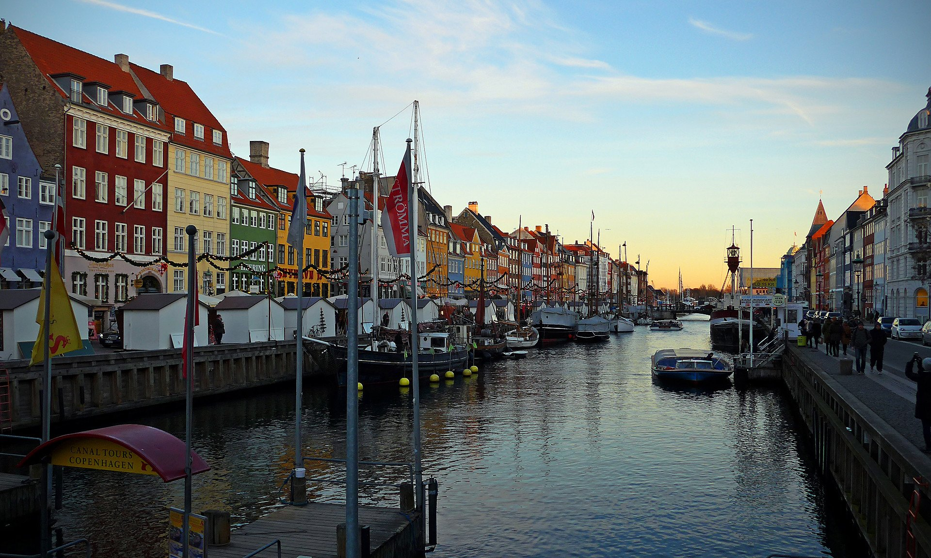 Christmas Market at Nyhavn 2020