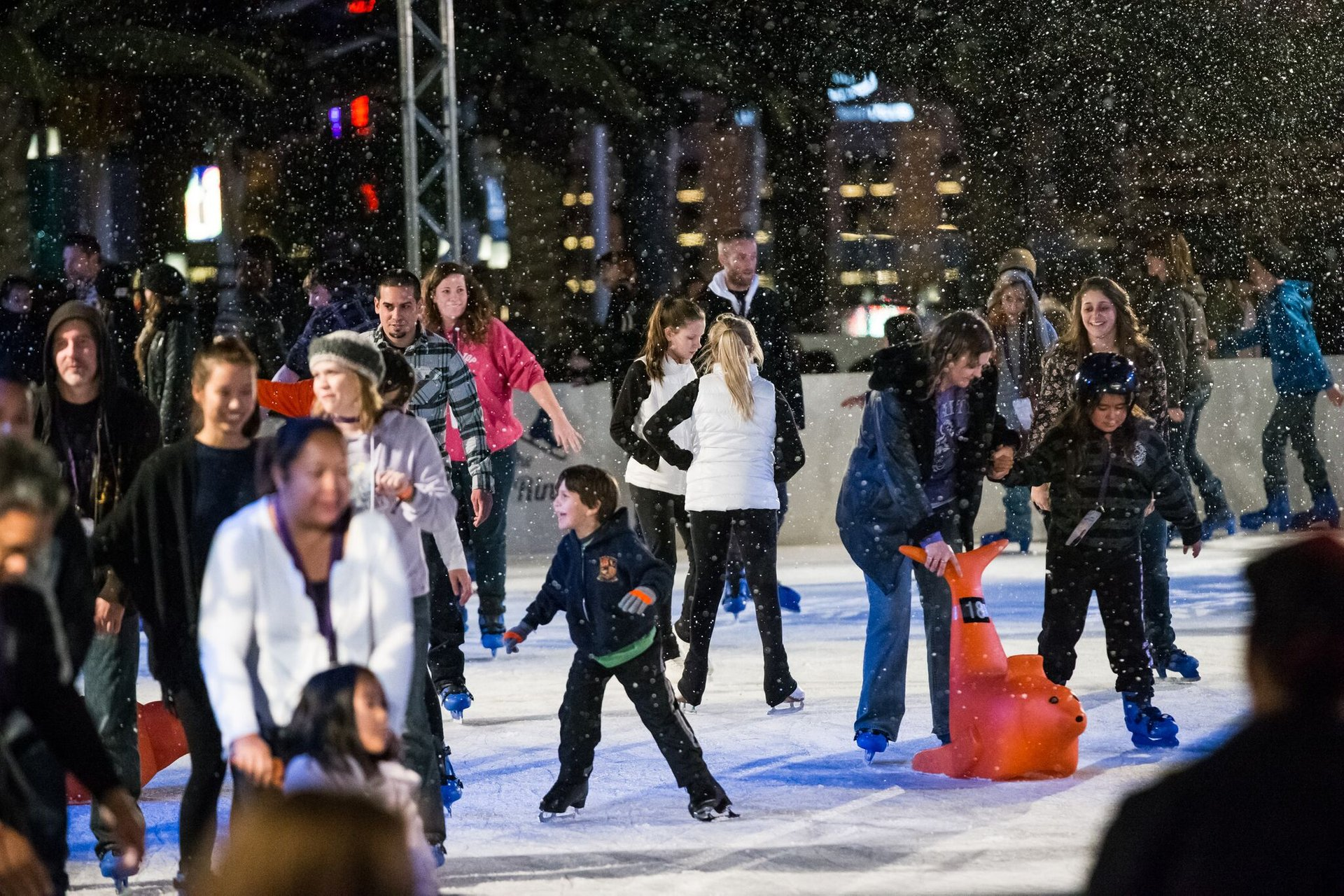 Best time for Ice Rink at the Cosmopolitan in Las Vegas 2020