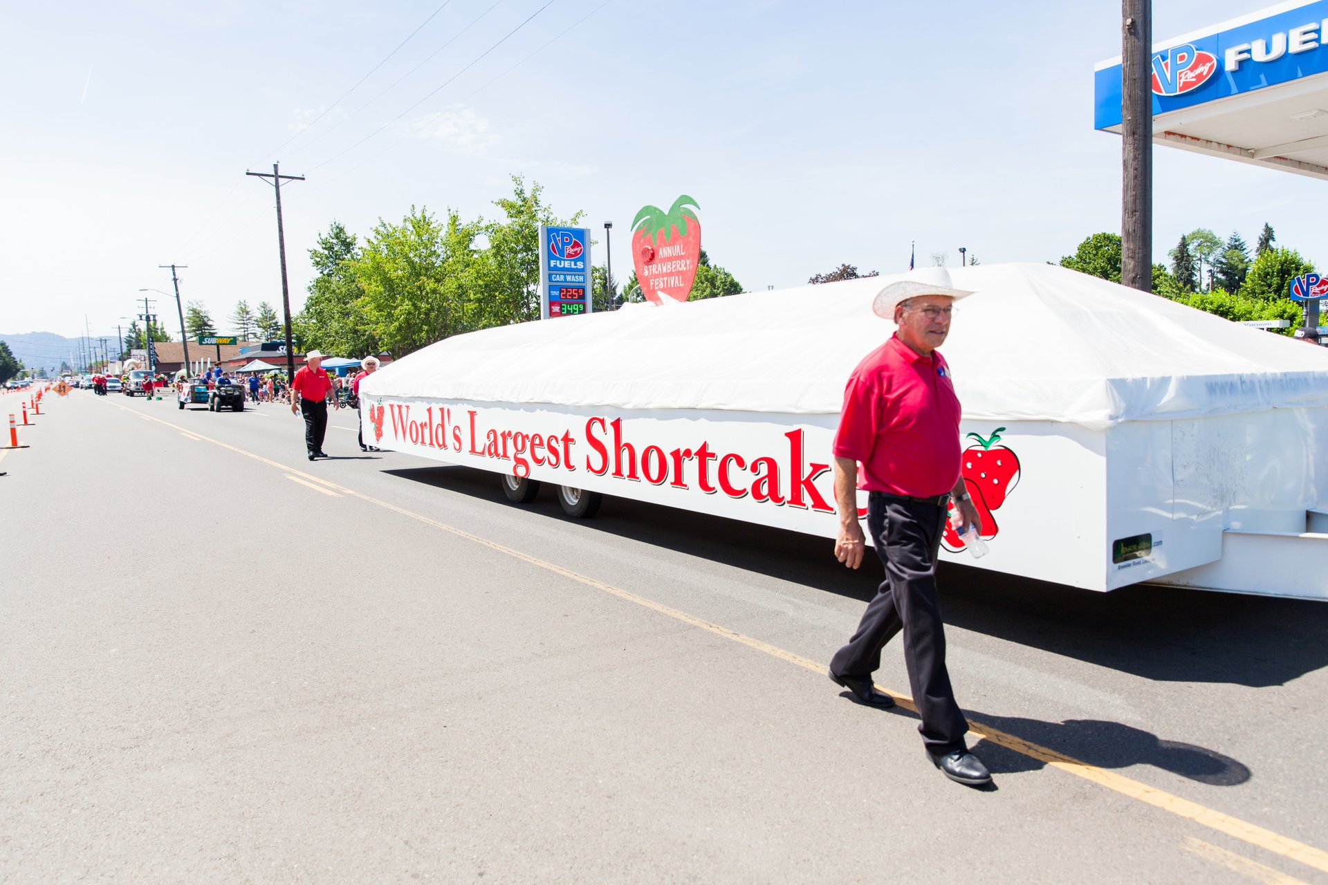 Strawberry Festival Grand Parade 2020