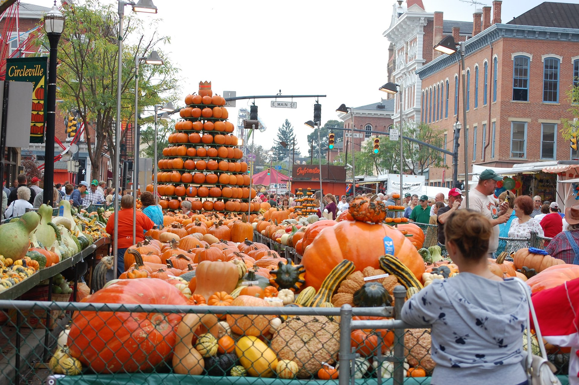 Circleville Pumpkin Show in Ohio - Best Season 2020