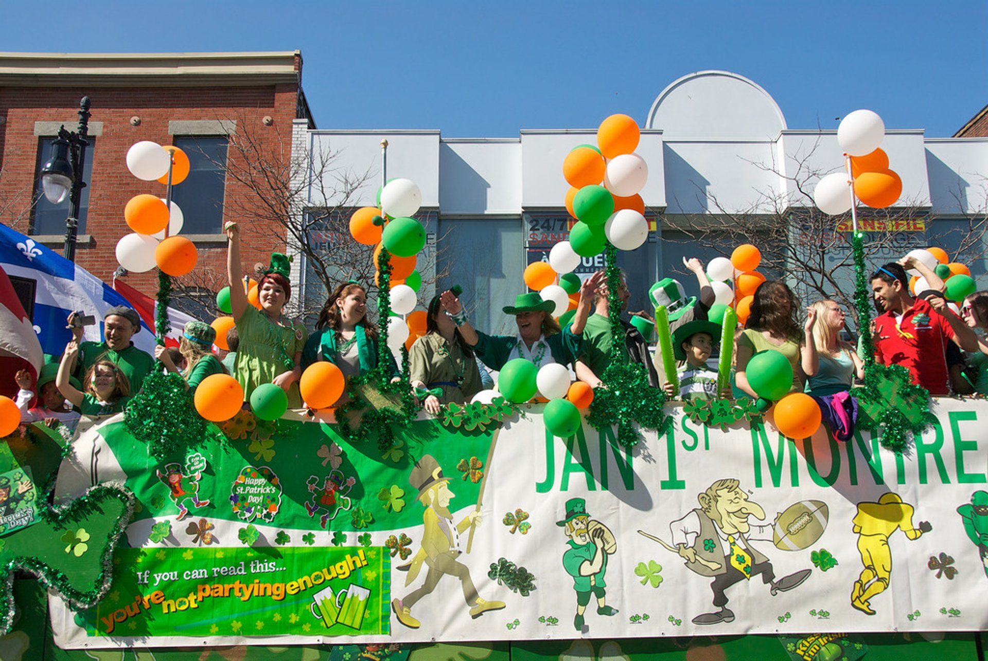 St. Patrick's Parade in Montreal 2020 - Best Time