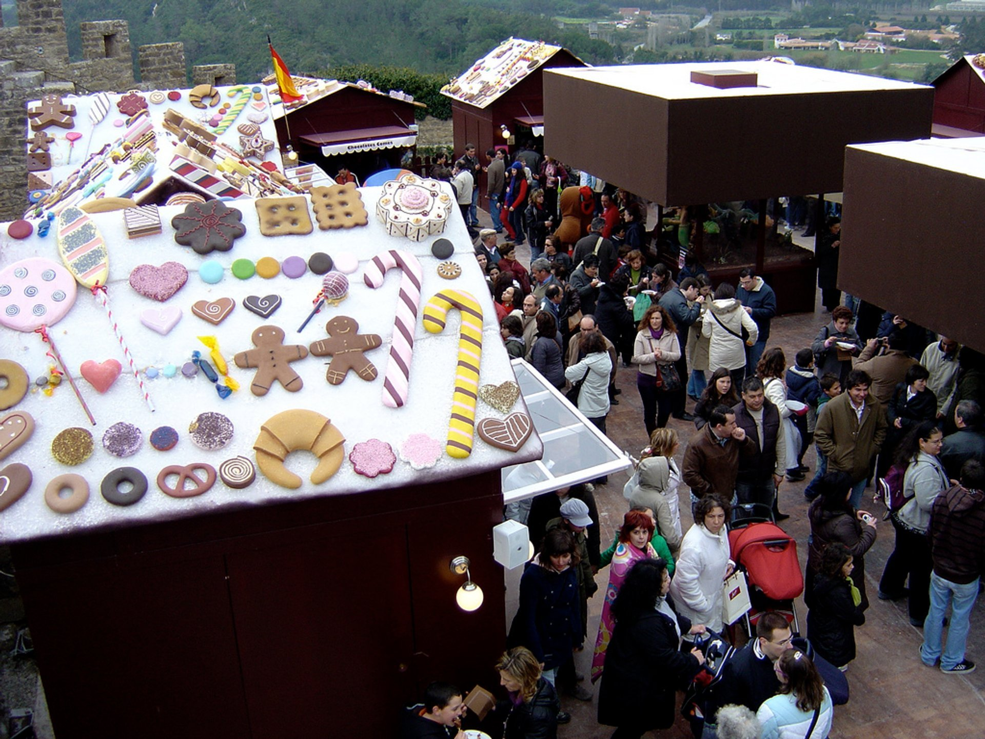 Obidos Chocolate Festival in Portugal 2020 - Best Time