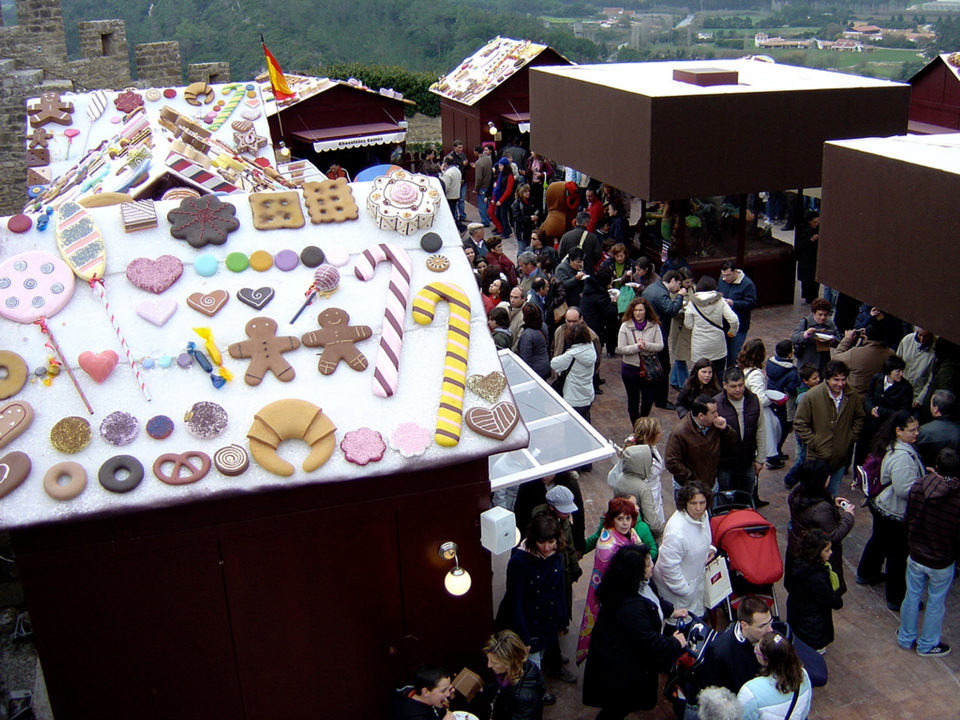 Obidos Chocolate Festival in Portugal 2019 - Best Time