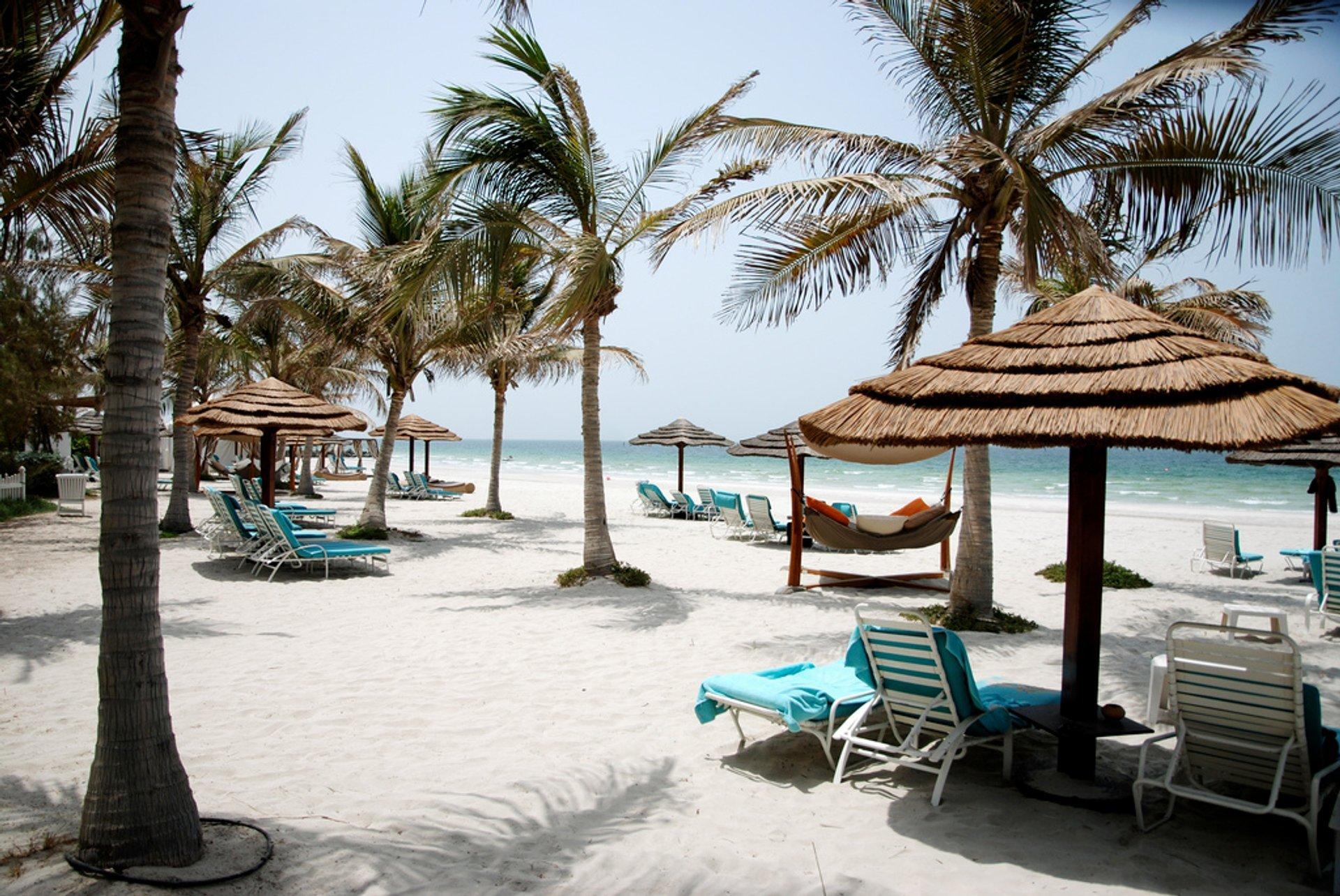 Best time for Summer in Dubai 2020