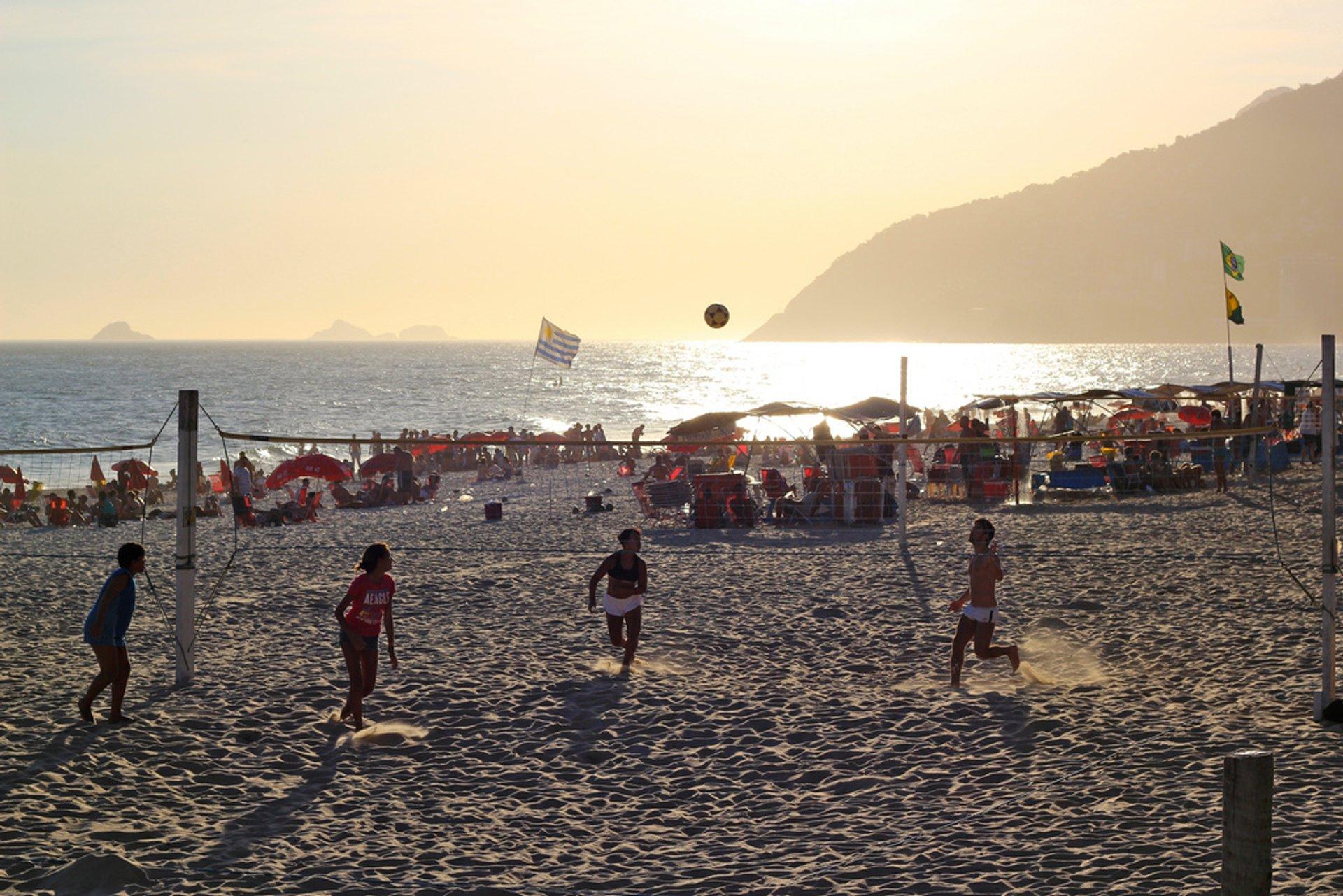 Futevôlei or Footvolley in Rio de Janeiro - Best Season 2019