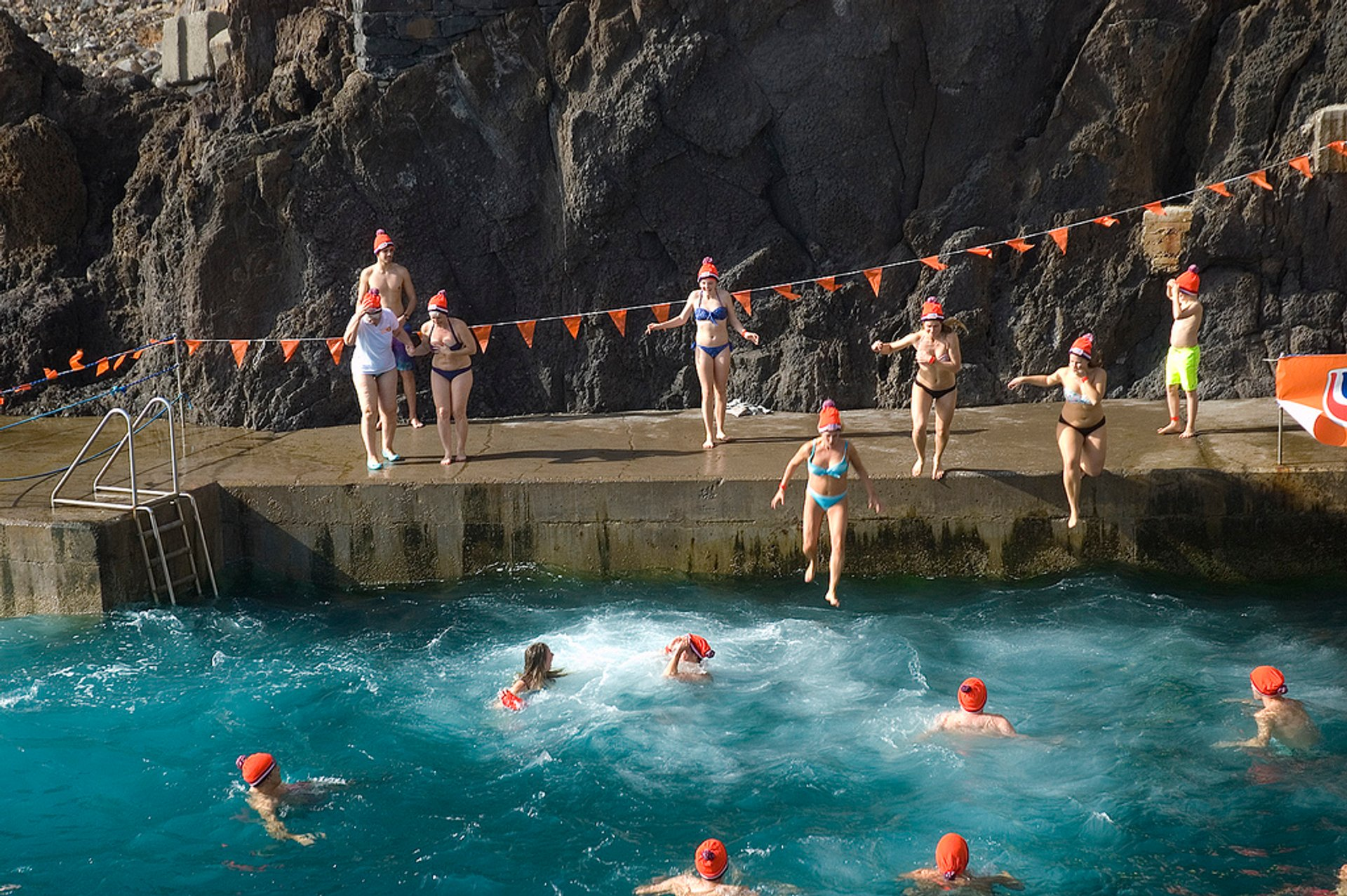 Madeira Plunge in Madeira 2019 - Best Time