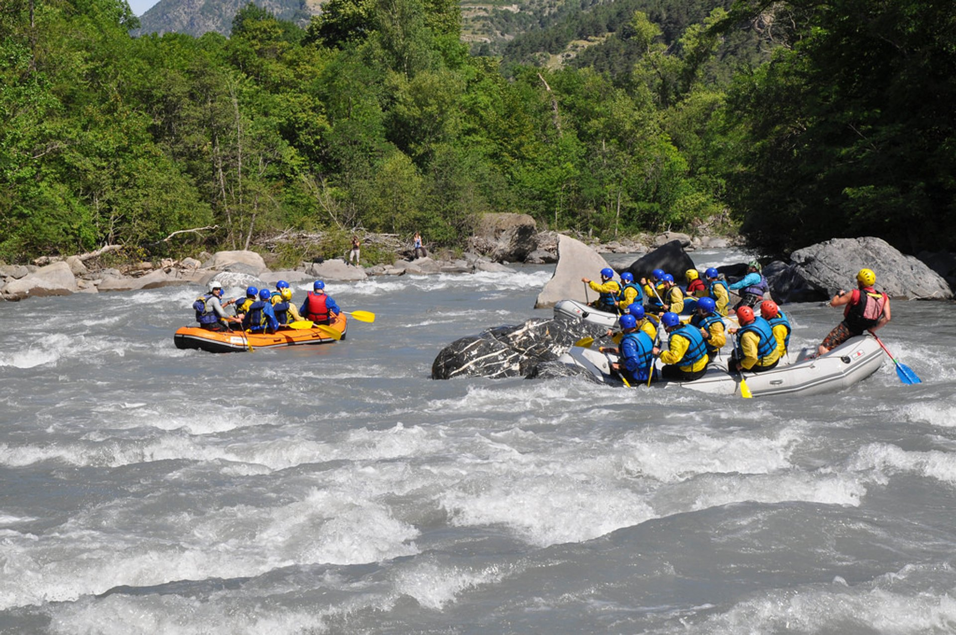 White Water Rafting in Provence & French Riviera 2019 - Best Time
