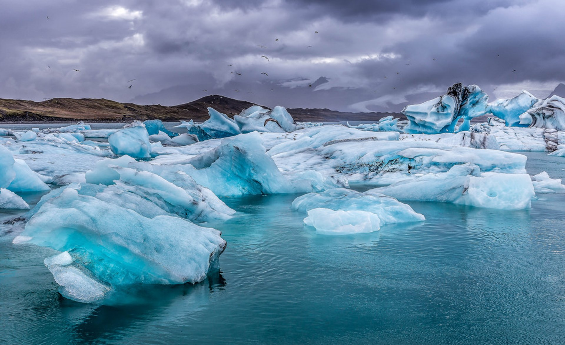 Best time for Jökulsárlón Glacier Lagoon in Iceland 2020