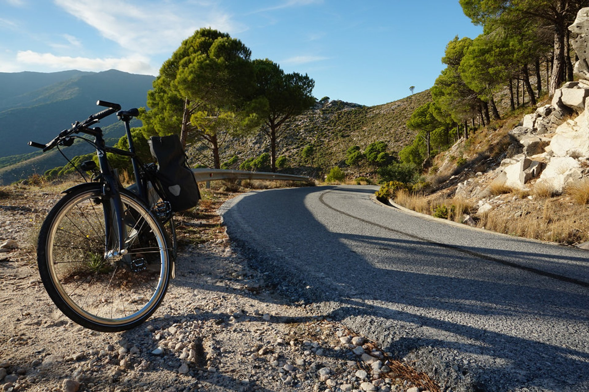 Best time for Cycling in Spain
