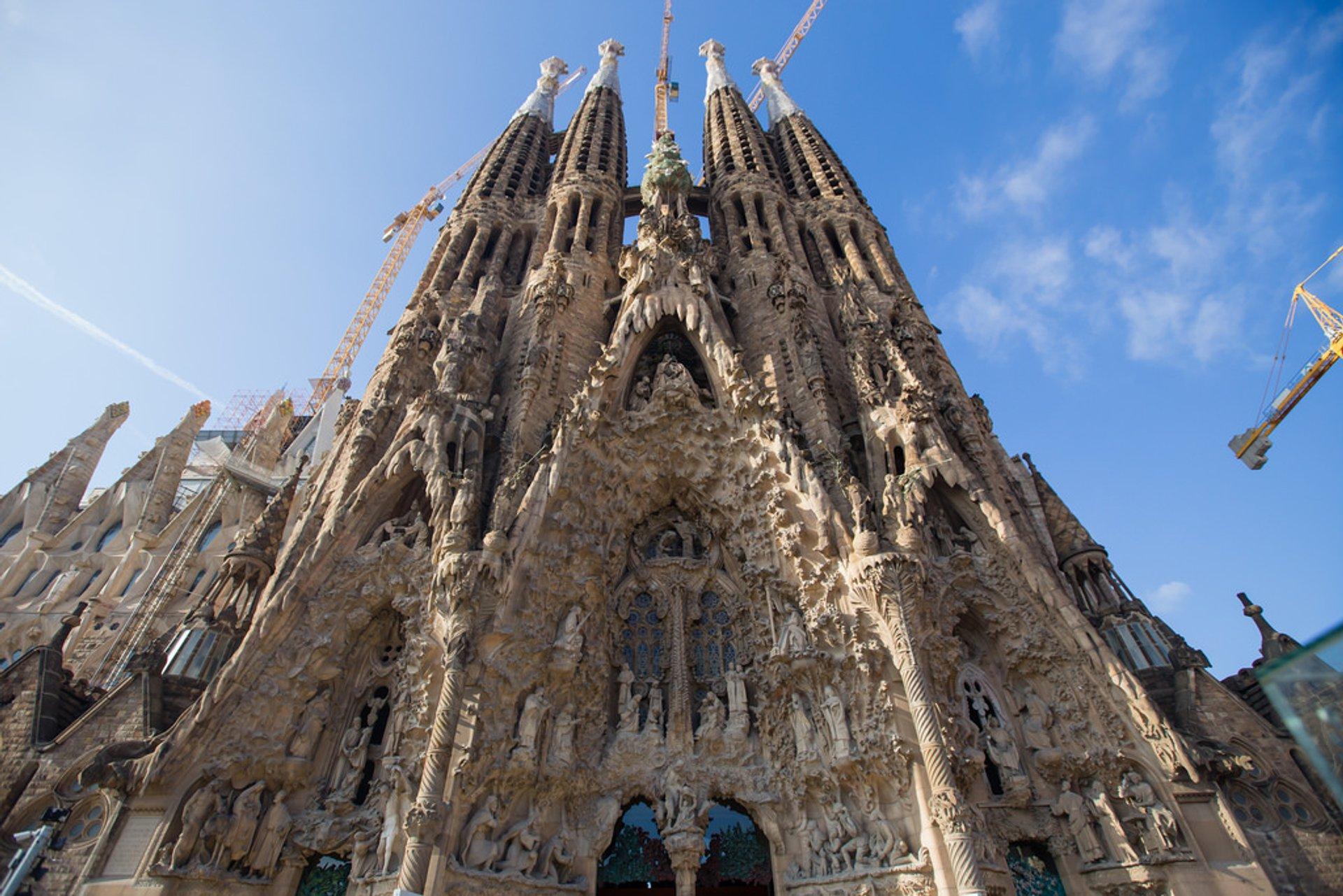 Best time for Sagrada Familia 2019