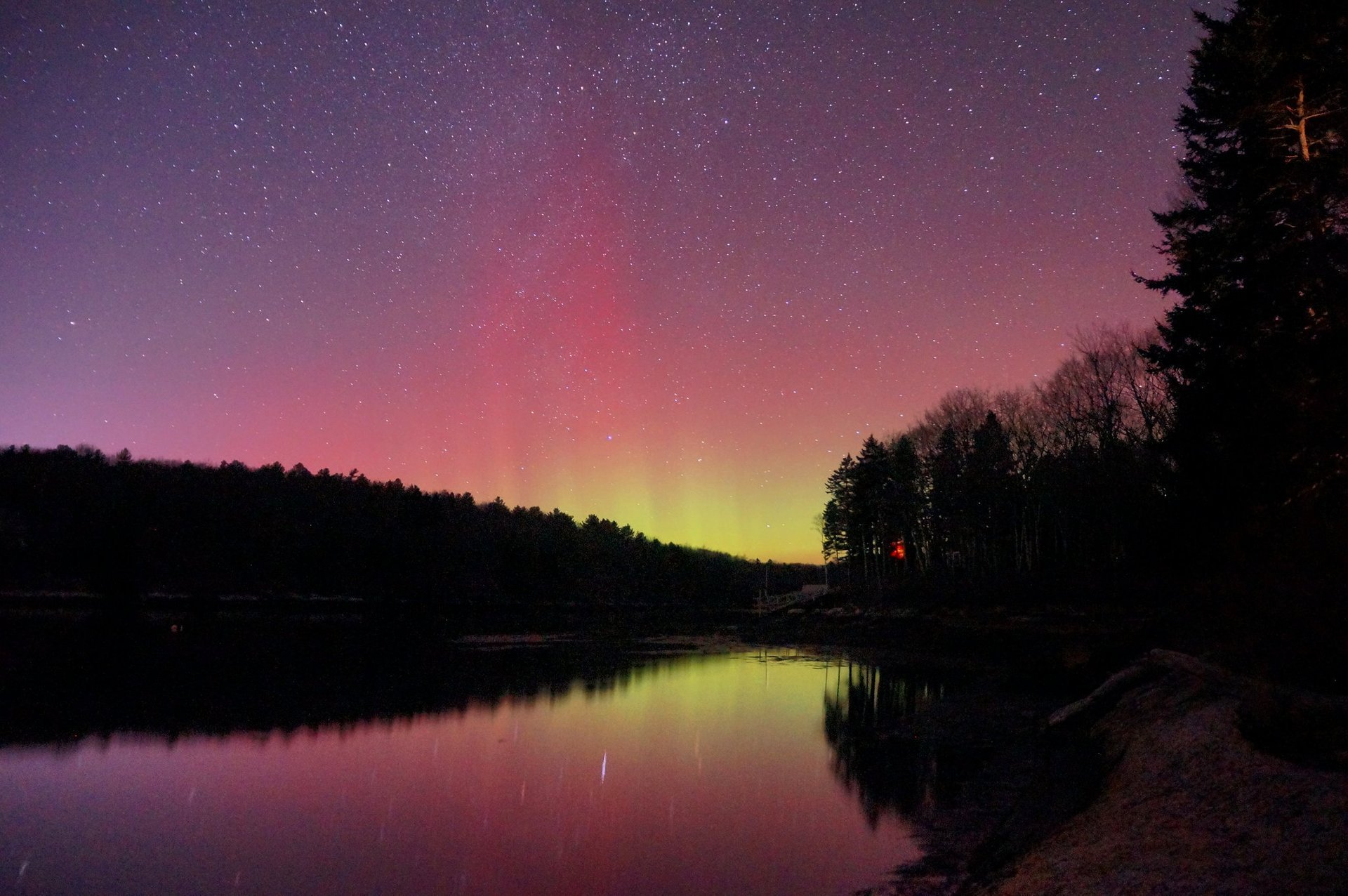 Northern Lights in Maine - Best Season 2020