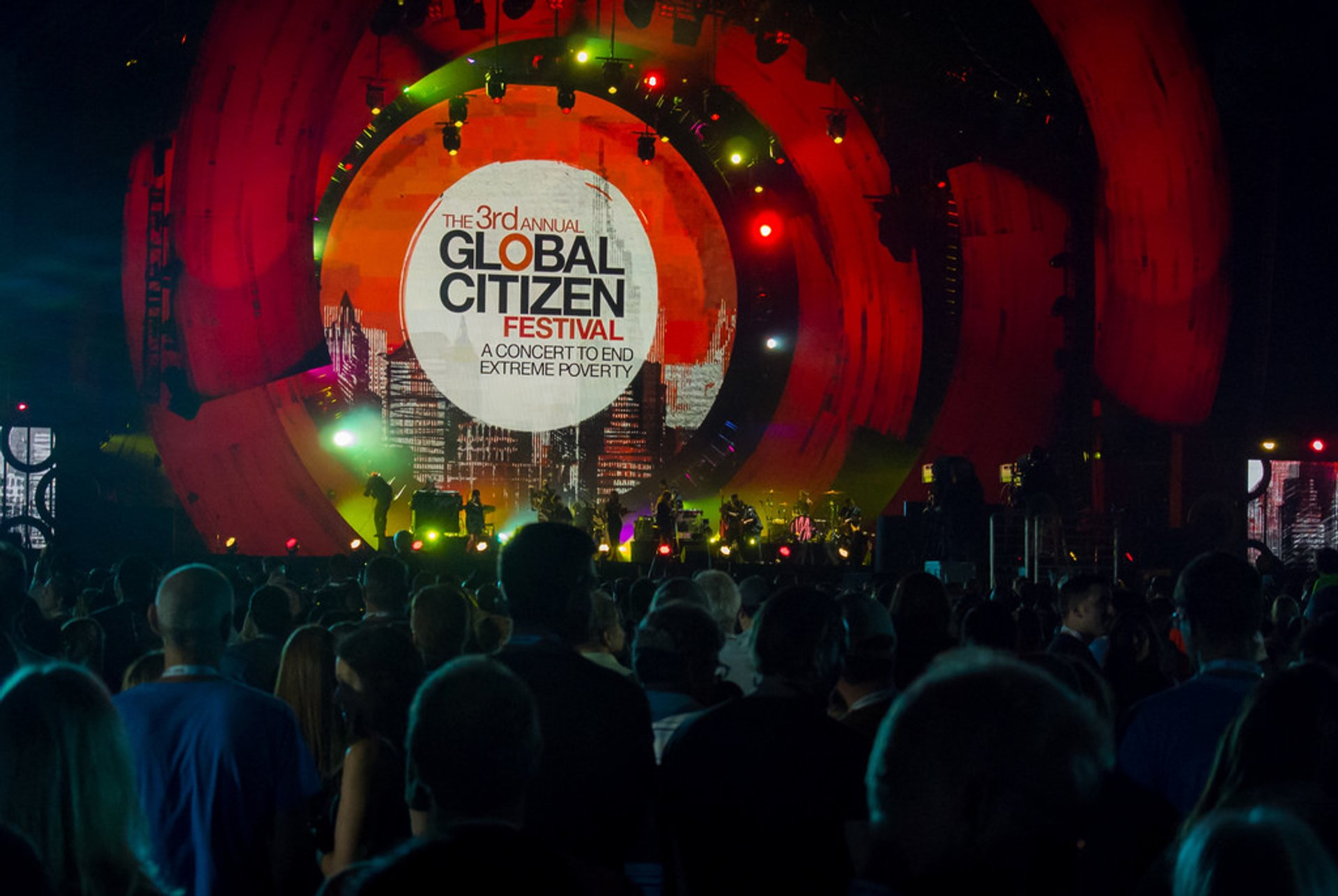 Best time for Global Citizen Festival New York 2020