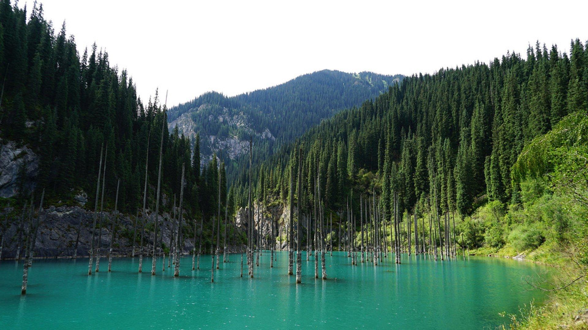 Lake Kaindy in Kazakhstan 2020 - Best Time