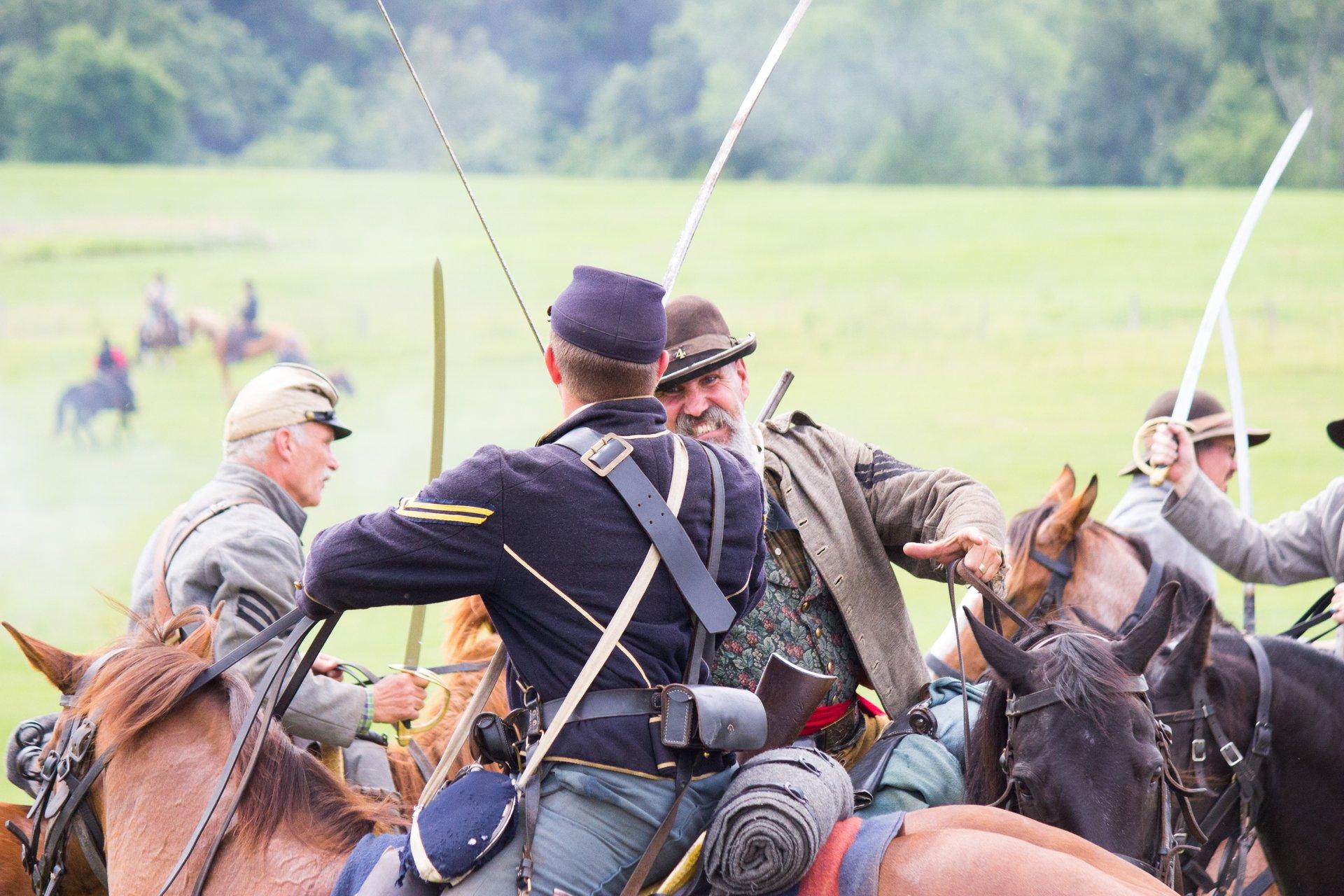 Gettysburg Civil War Battle Reenactment in Pennsylvania 2020 - Best Time