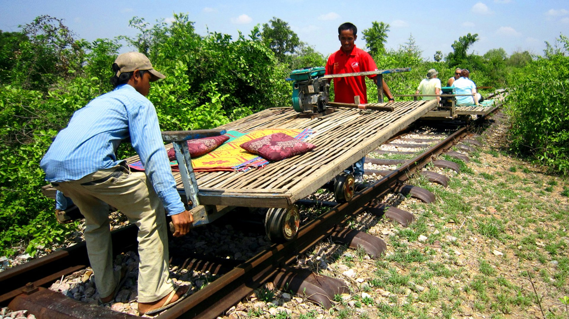 Bamboo Train or Norry in Cambodia - Best Time