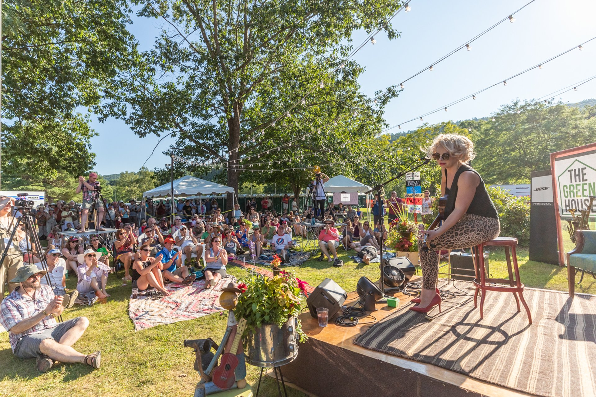 Samantha Fish on Green House stage 2020