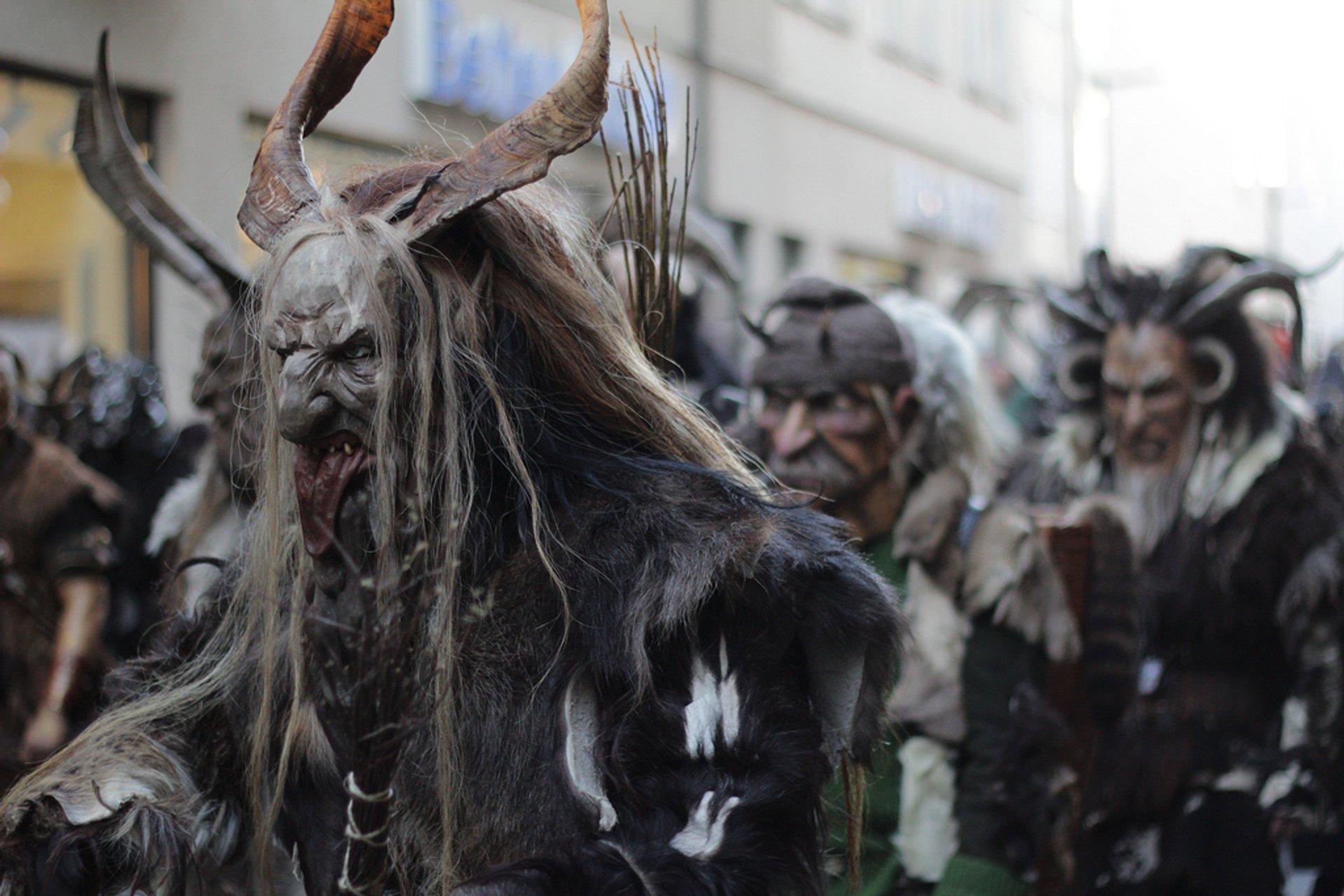 Krampus Nacht and Krampus Run in Bavaria 2020 - Best Time