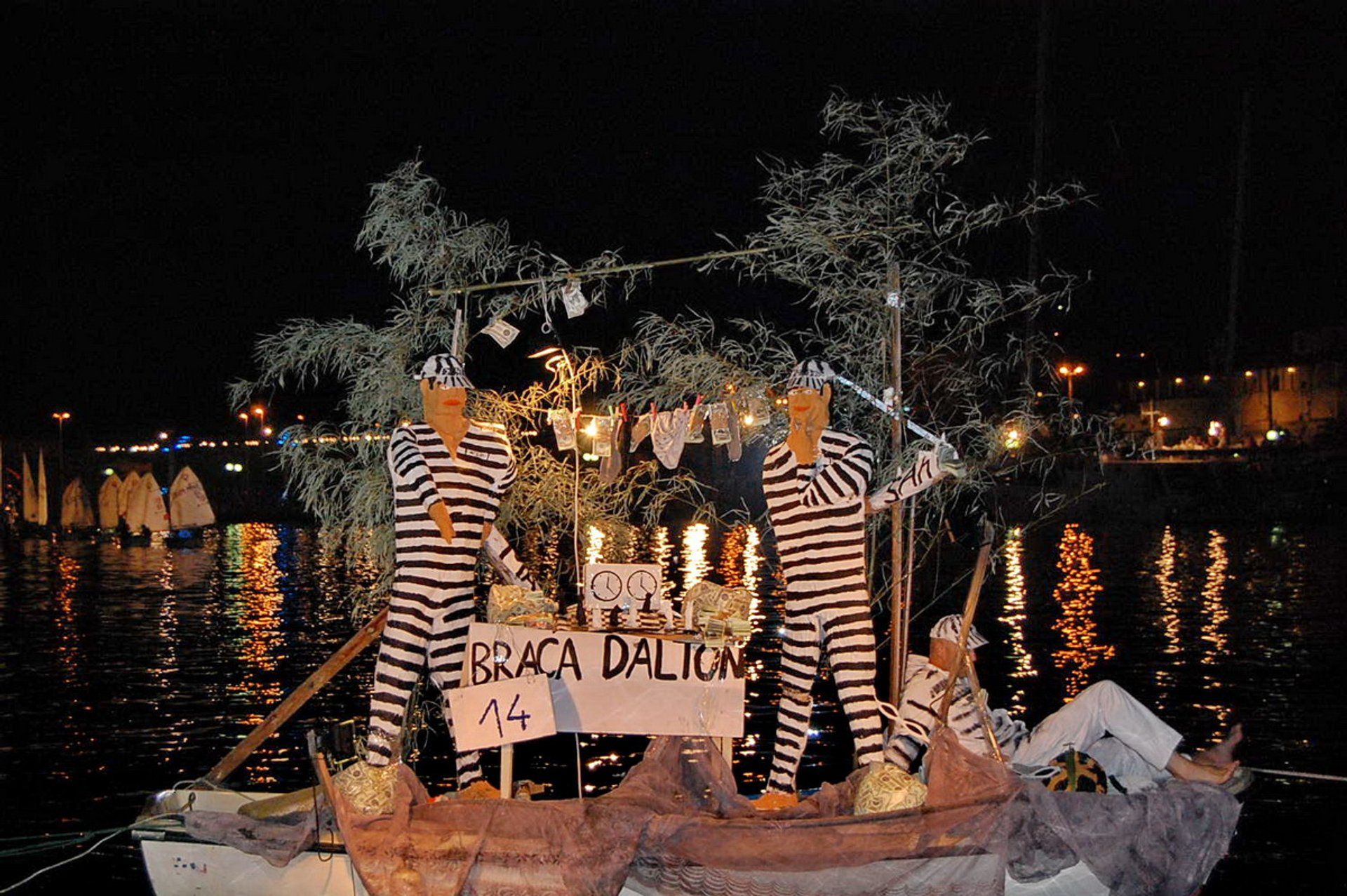 Best time to see Bokeljska Noc or Boka Night in Kotor in Montenegro