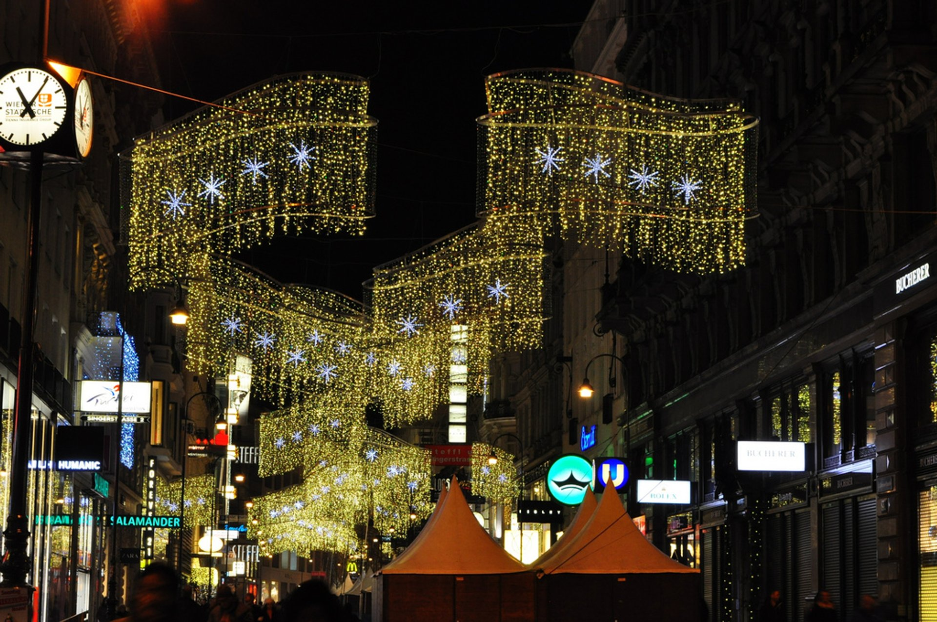 Christmas Lights on Kärntnerstraße 2019