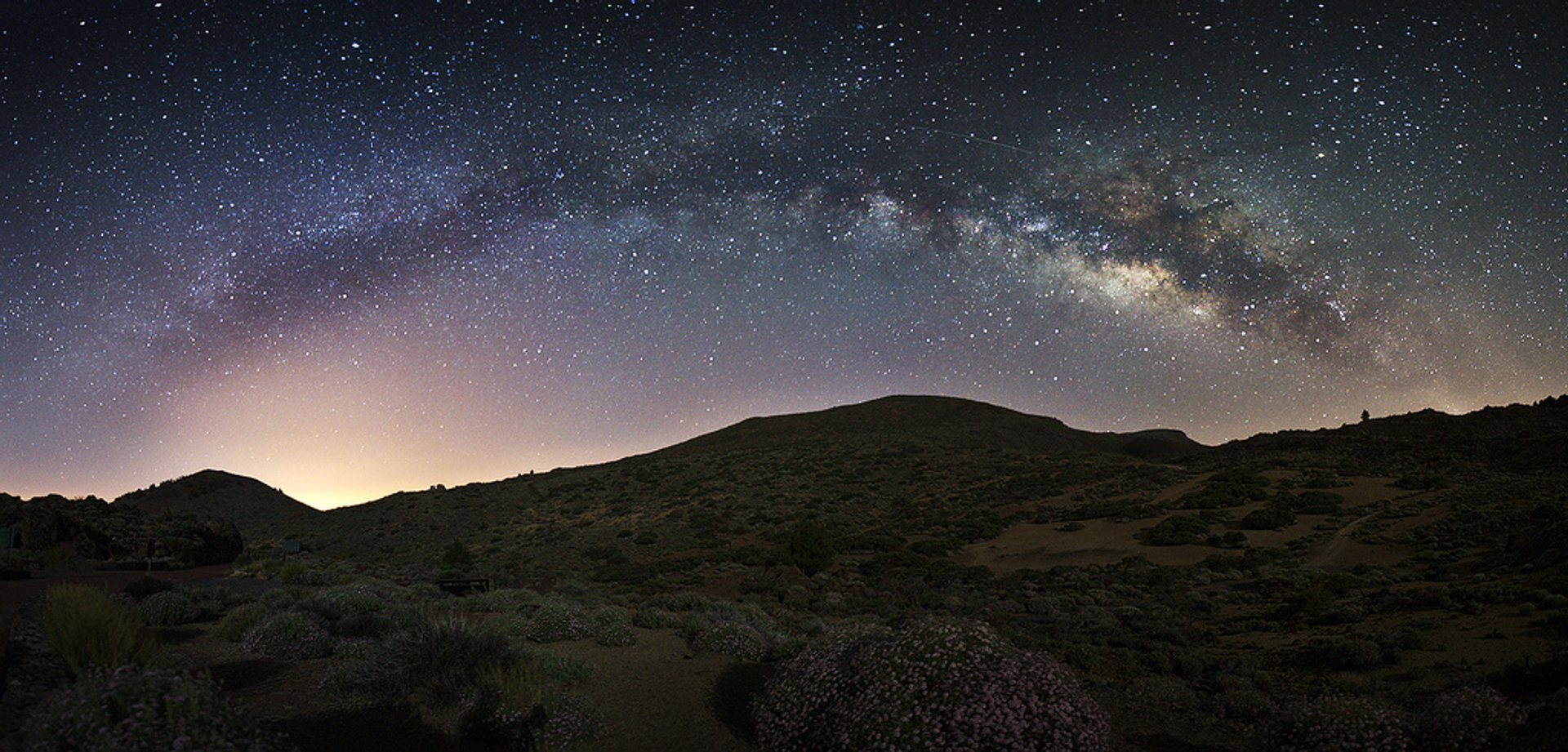 Milky Way observed from Tenerife 2019