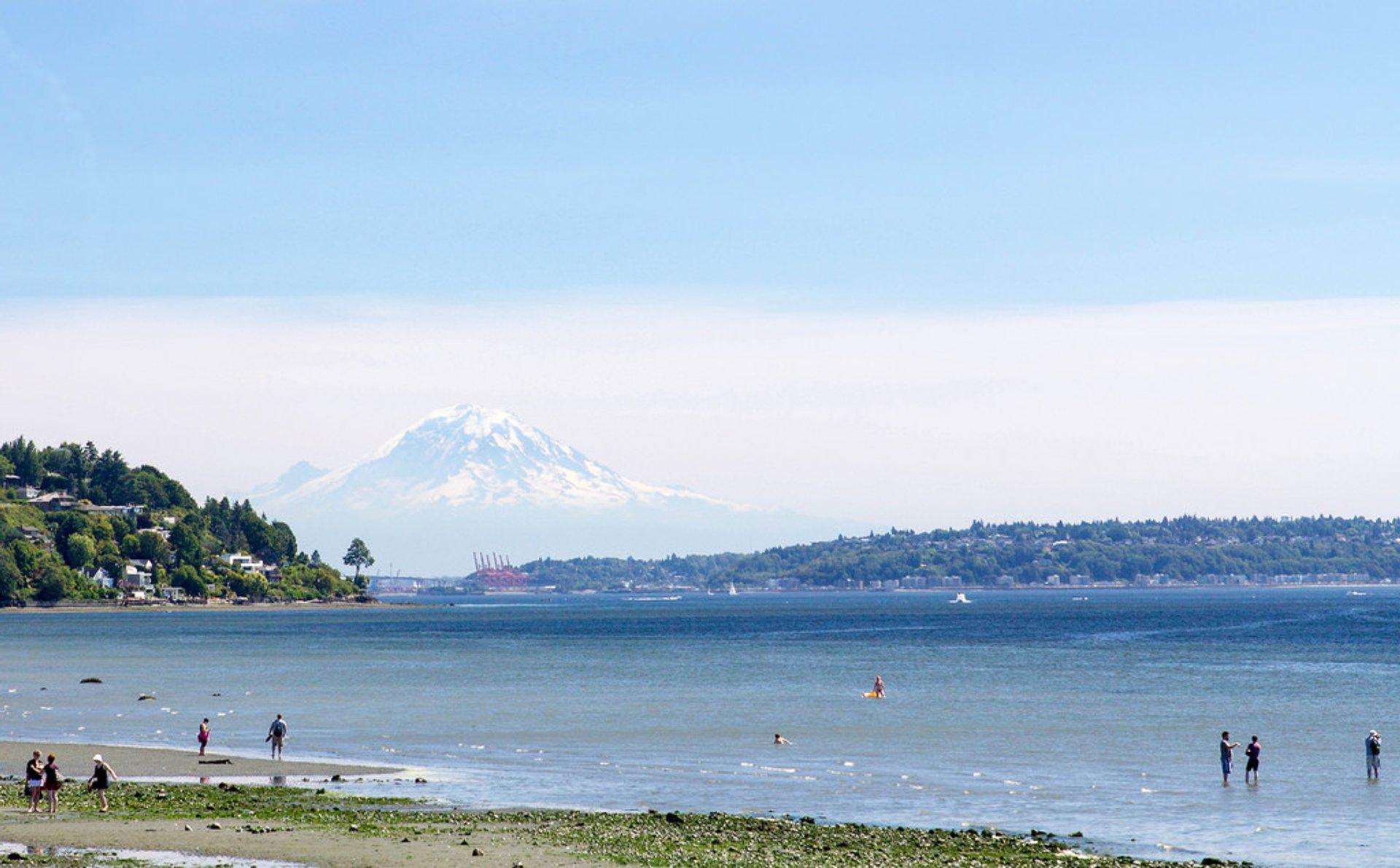 Beach Season in Seattle 2020 - Best Time