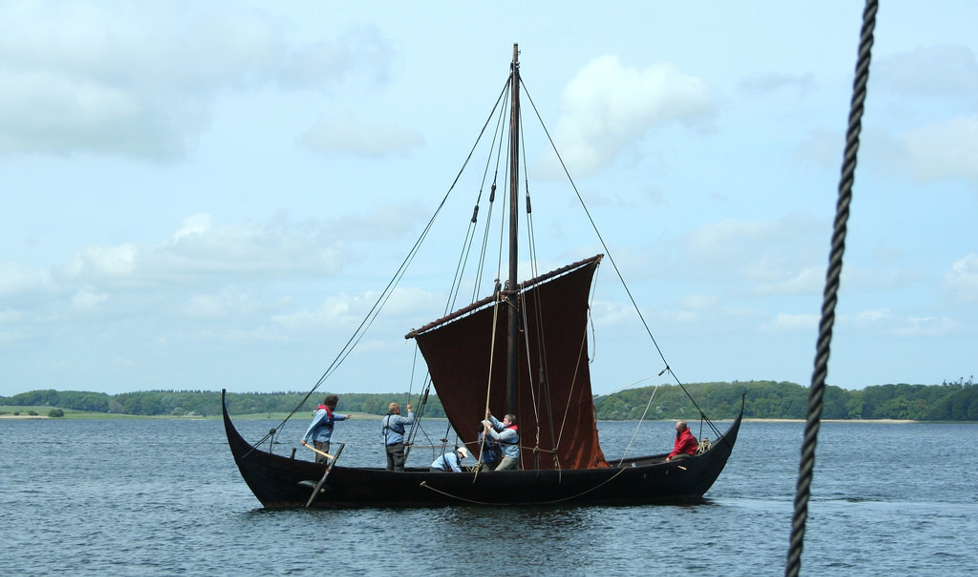 Best time for Sailing Viking Ships in Denmark 2019