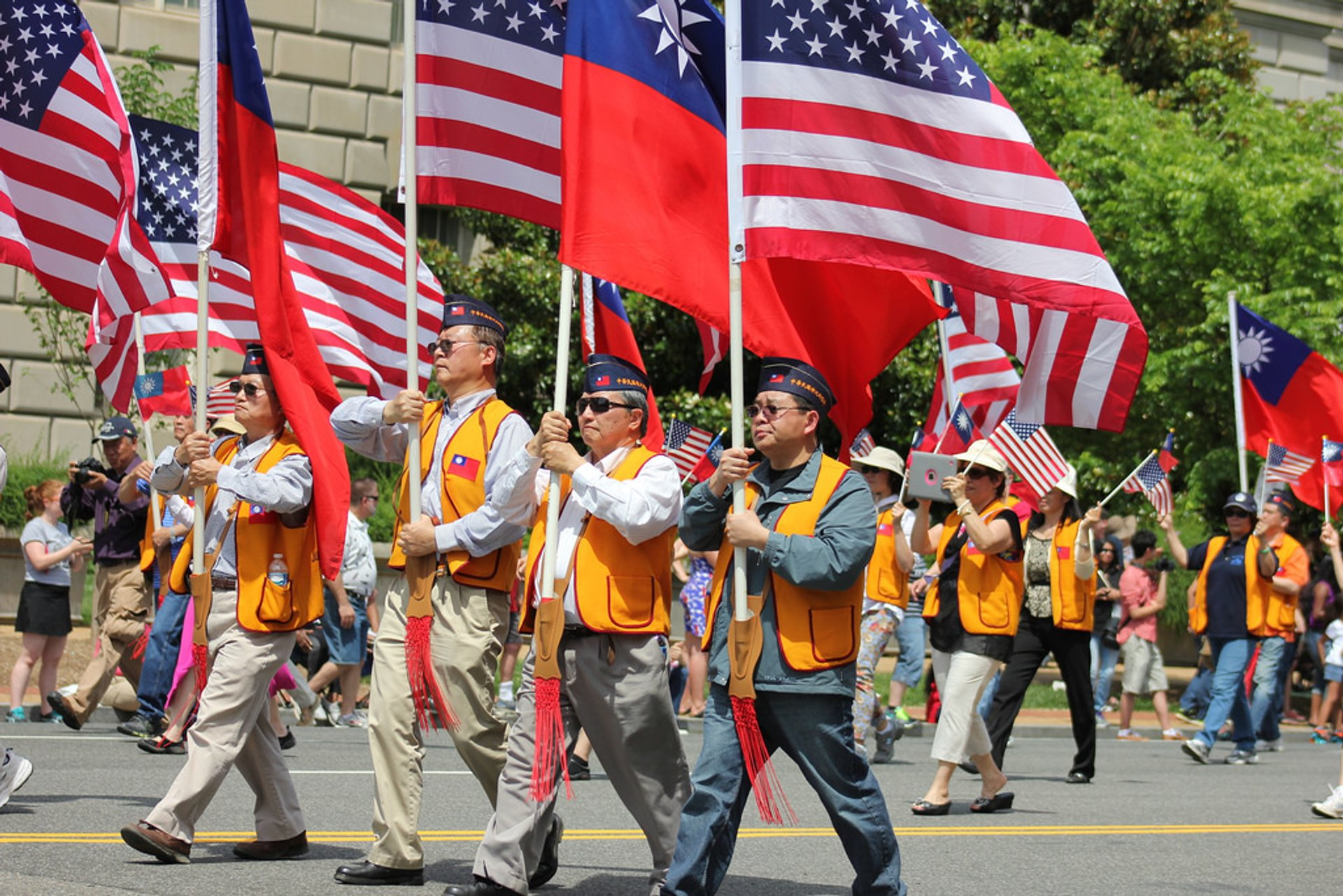 Best time for National Memorial Day Parade in Washington, D.C. 2019