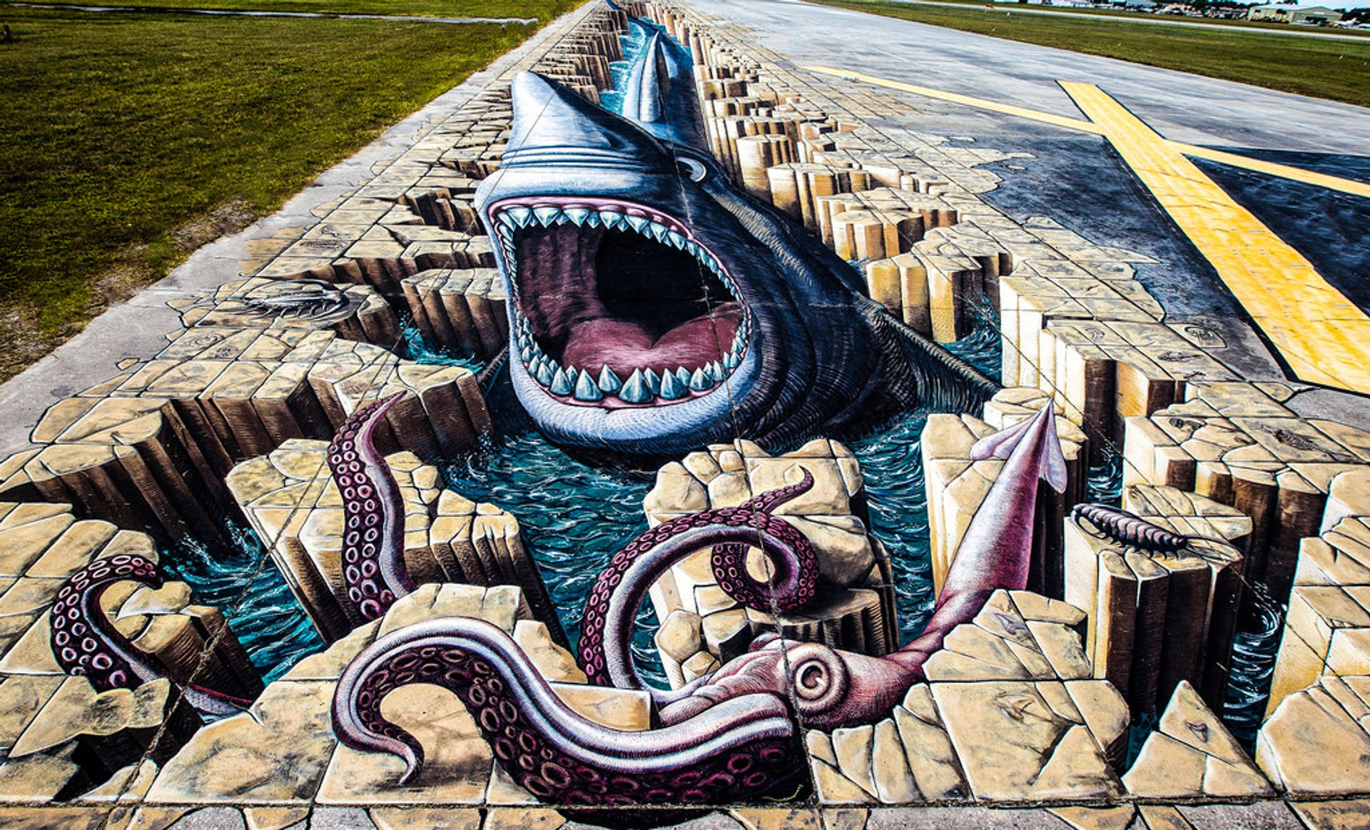 Best time to see Chalk Festival in Venice 2019