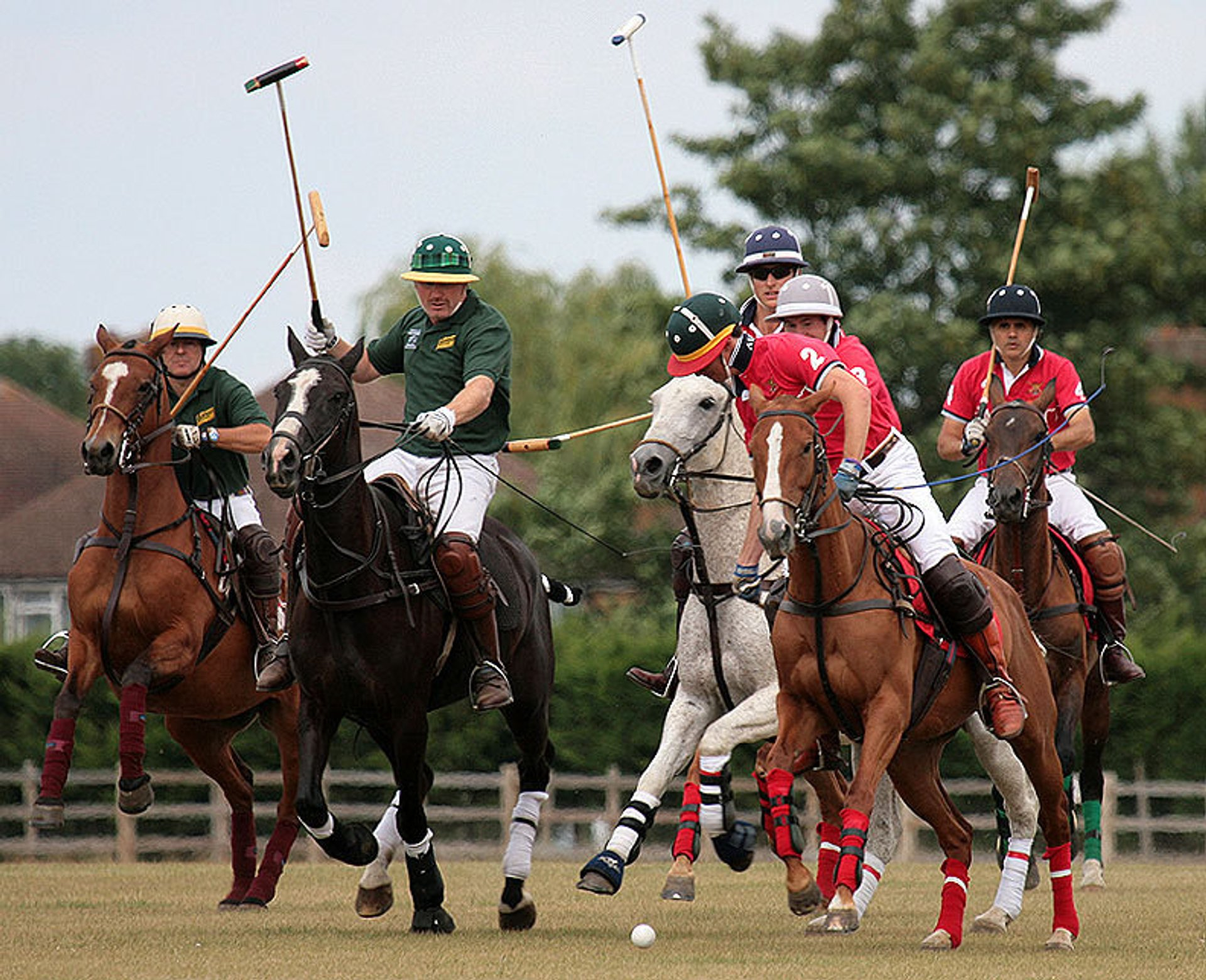 Best time for Polo  in England 2019
