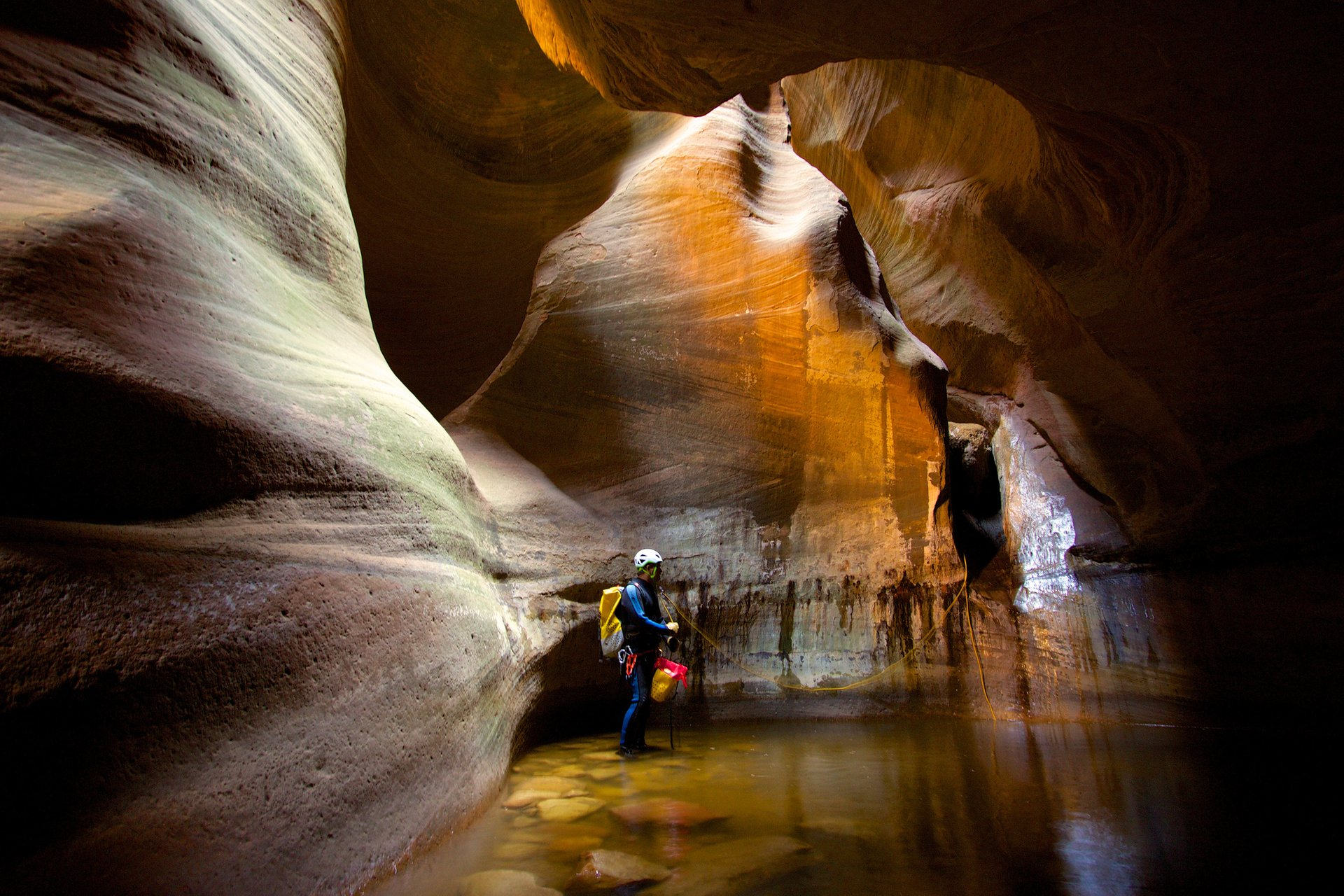 Canyoneering in Zion National Park in Utah - Best Season 2020