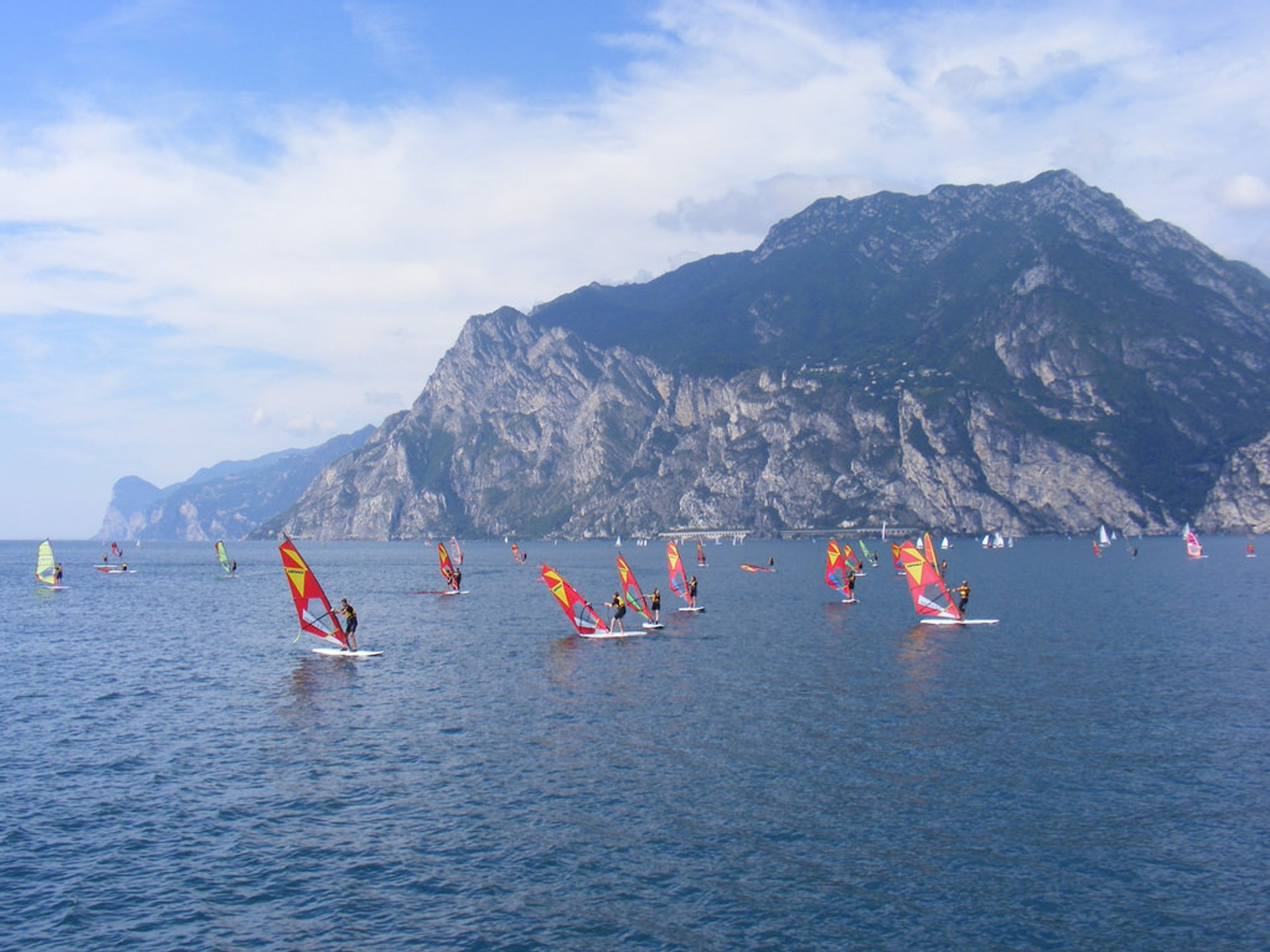 Windsurfing in Lake Garda, Italy 2020