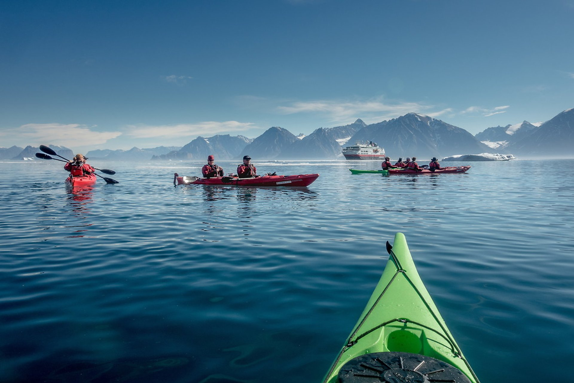Kayaking in Greenland - Best Season 2020
