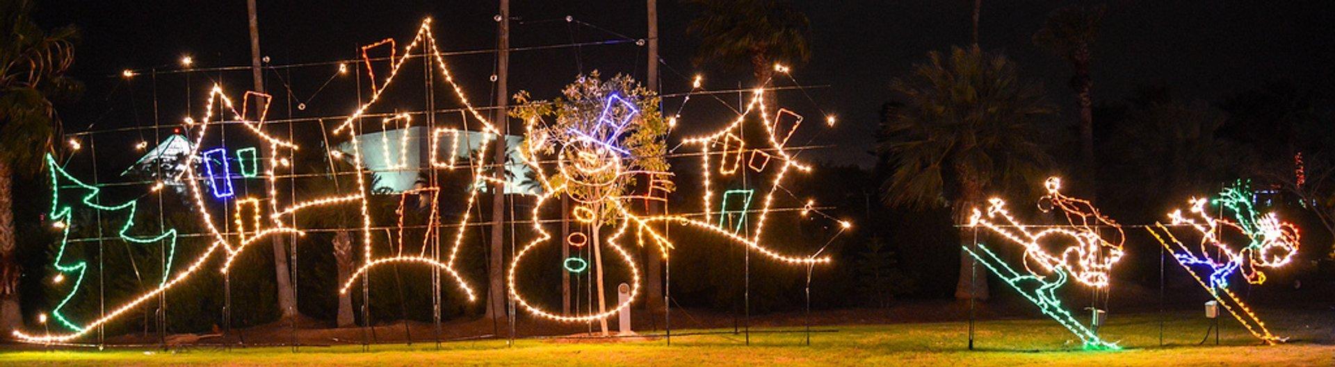 Moody Gardens Festival of Lights 2019