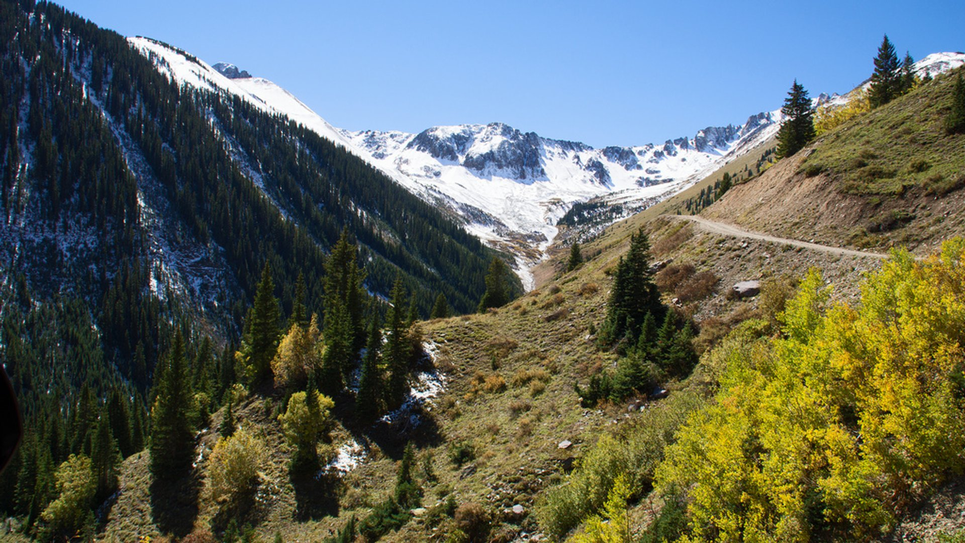 Best time for Ophir Pass in Colorado 2019