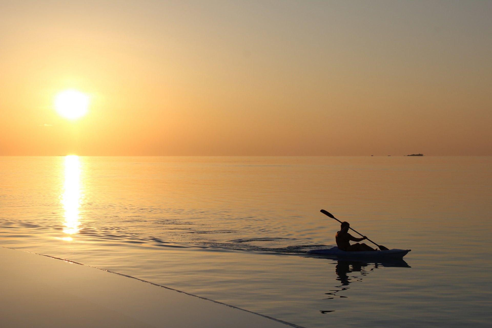 Kayaking  in Maldives 2020 - Best Time