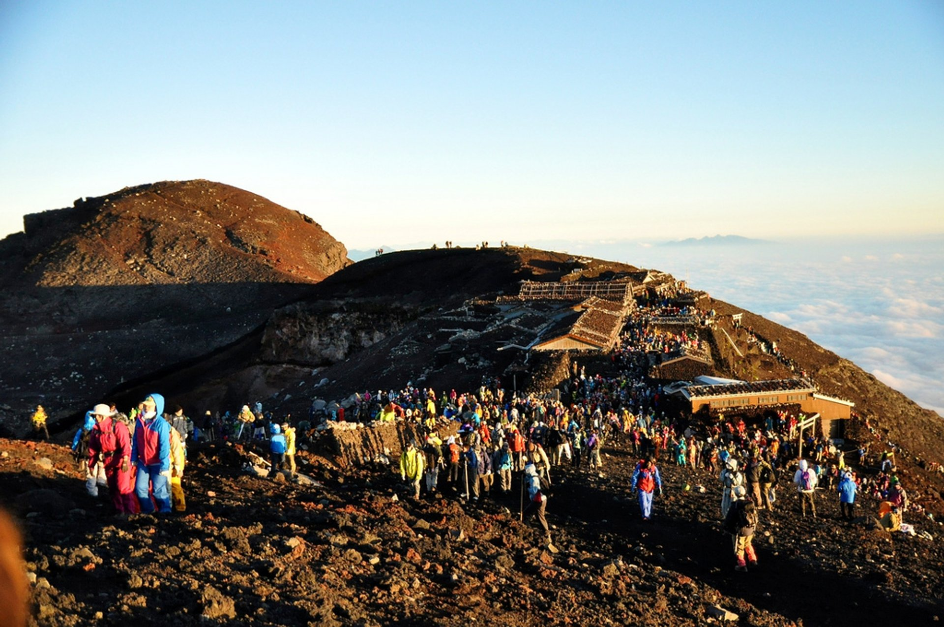 Best time for Climbing Mount Fuji in Japan