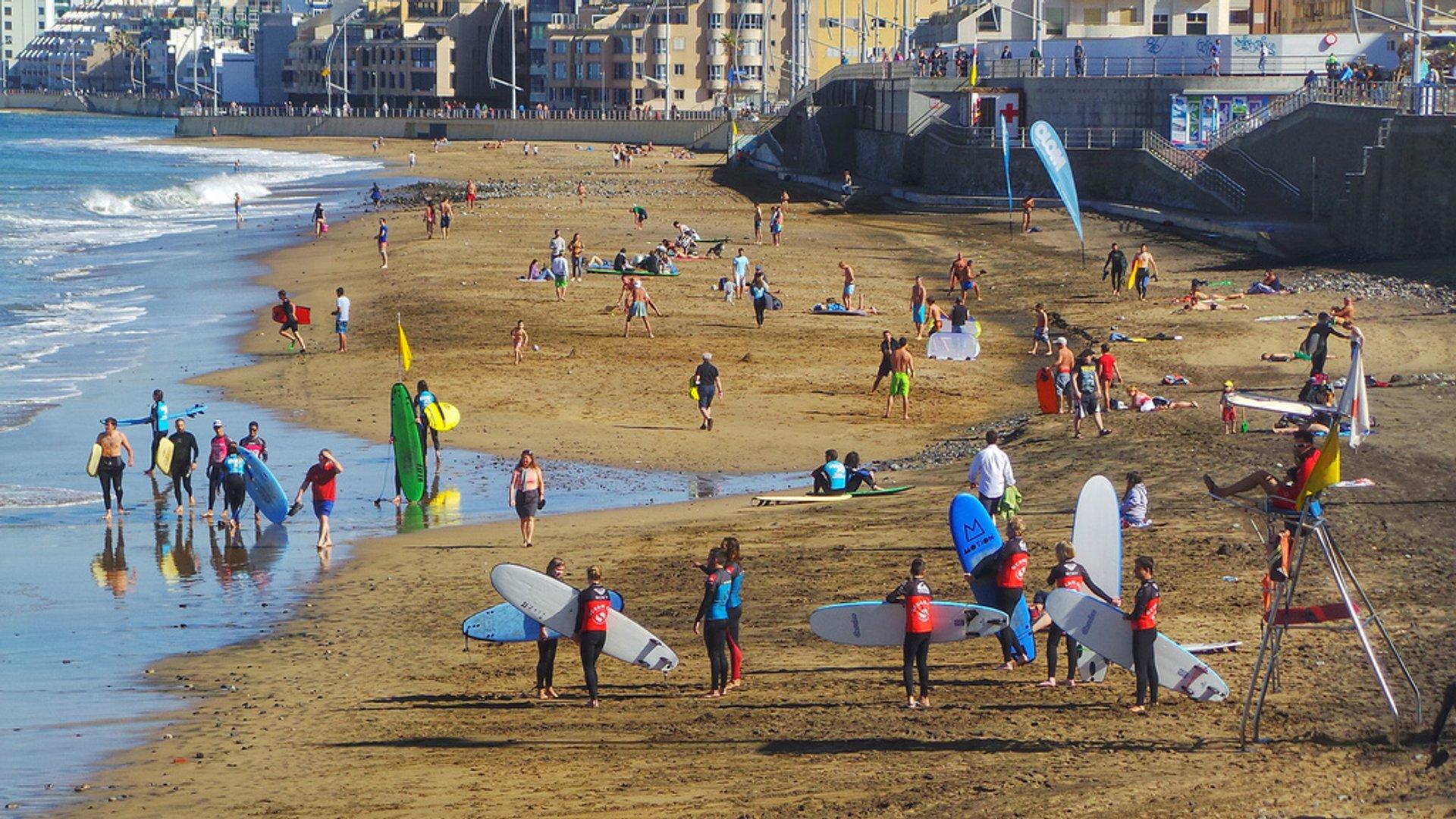 """""""Surf City"""" Las Palmas de Gran Canaria La Cicer Playa Las Canteras 2020"""
