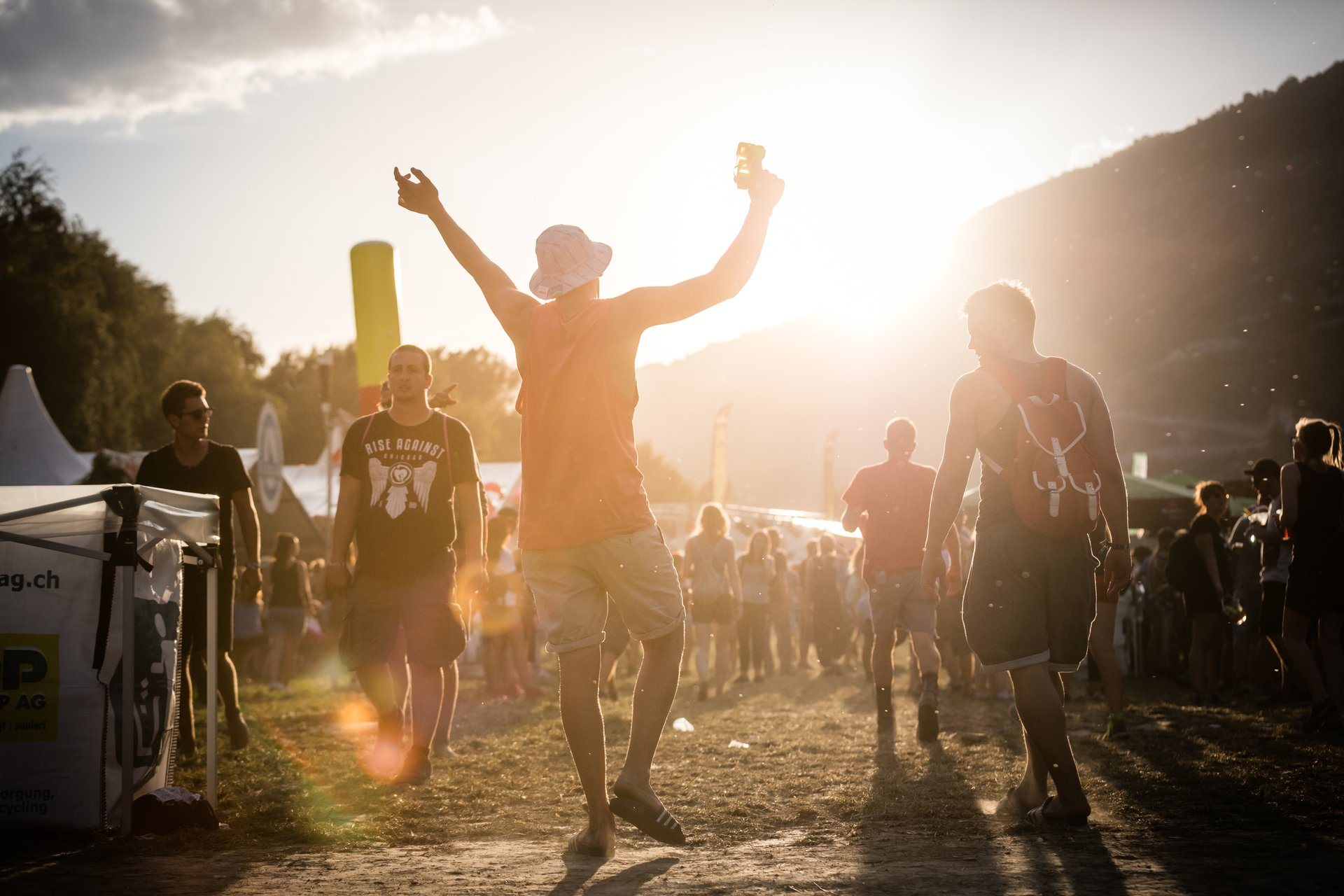 Best time for Open Air Gampel in Switzerland 2020