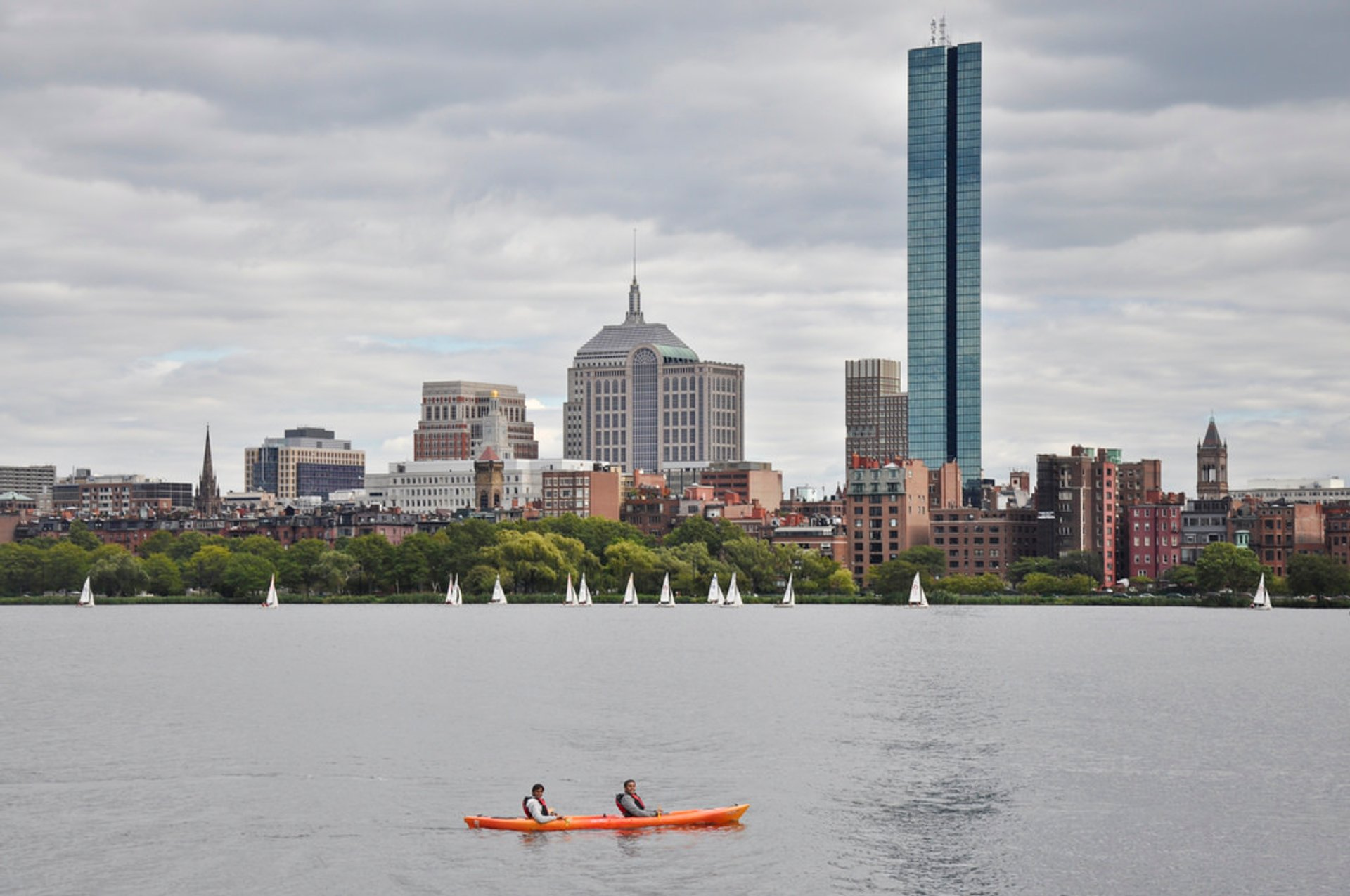 Best time for Charles River Kayaking in Boston
