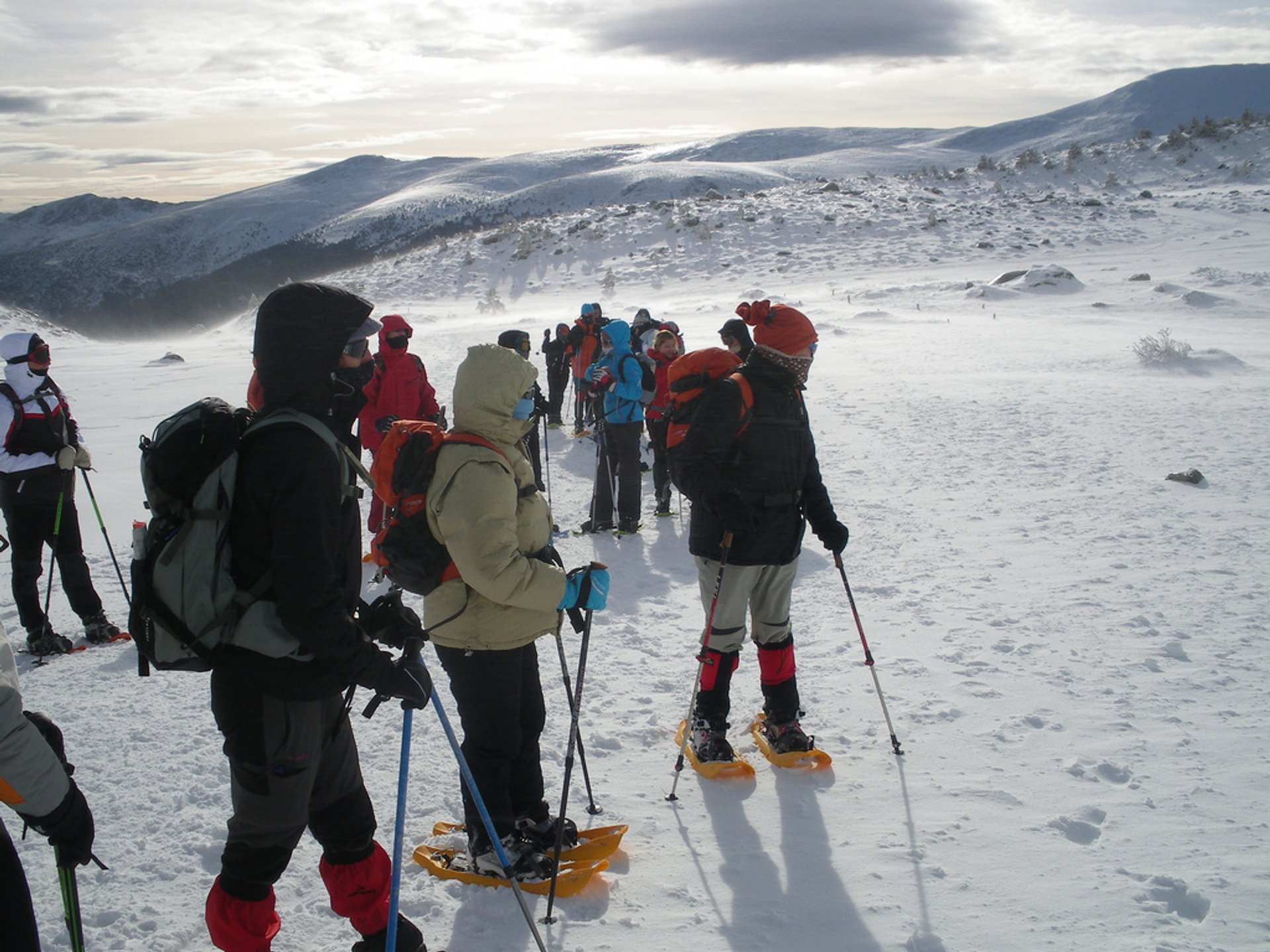 Snowshoeing in Sierra de Guadarrama in Madrid - Best Season 2020