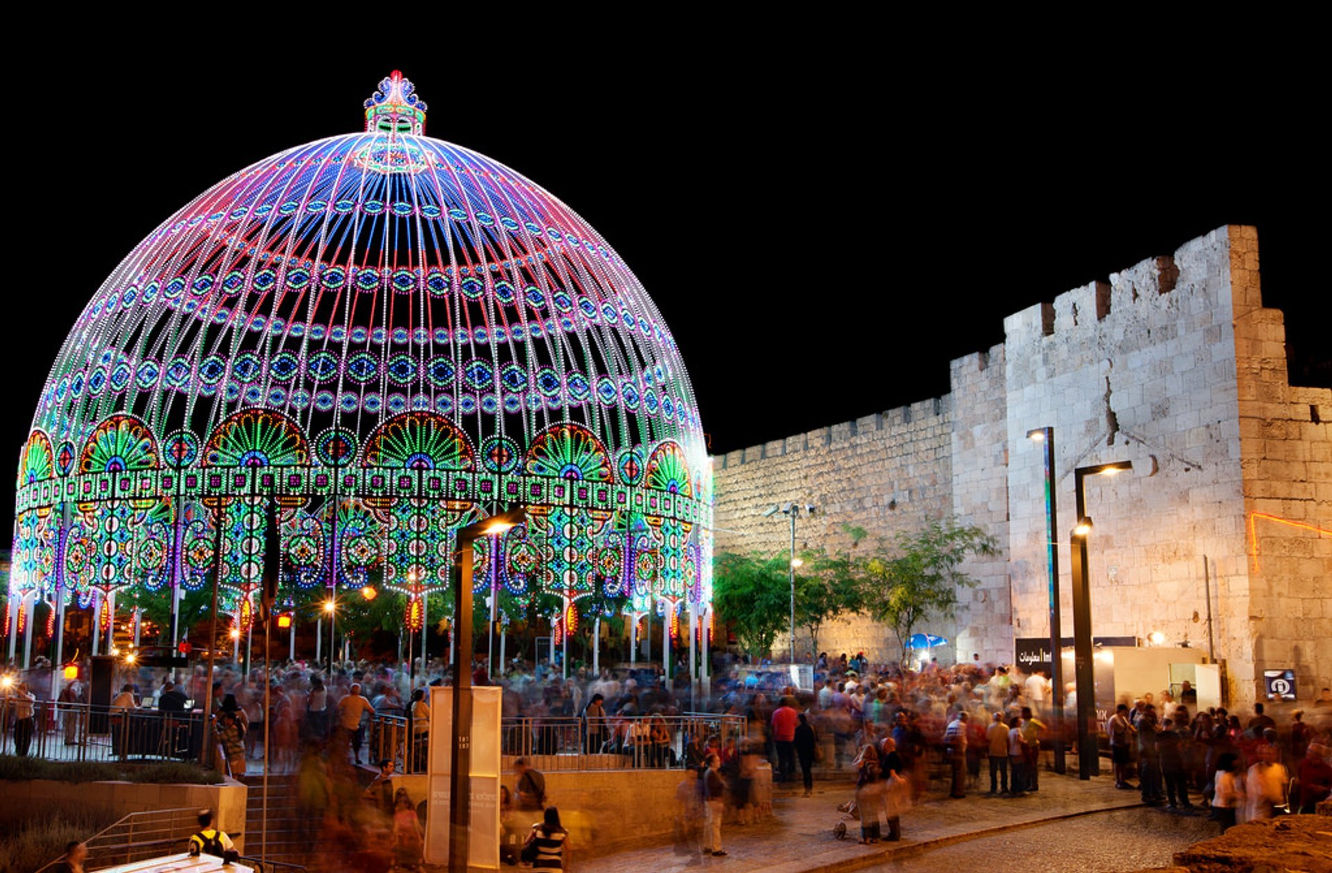 Jerusalem Light Festival in Israel 2019 - Best Time