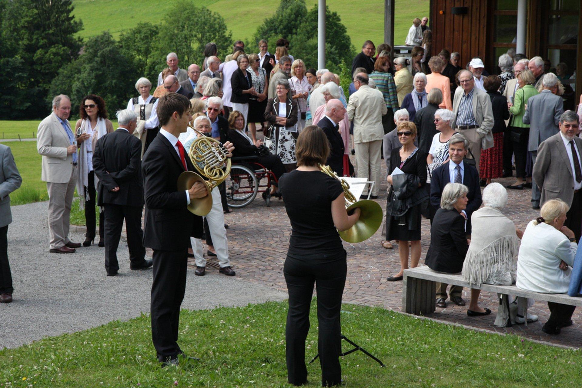Schubertiade Festival in Austria 2019 - Best Time