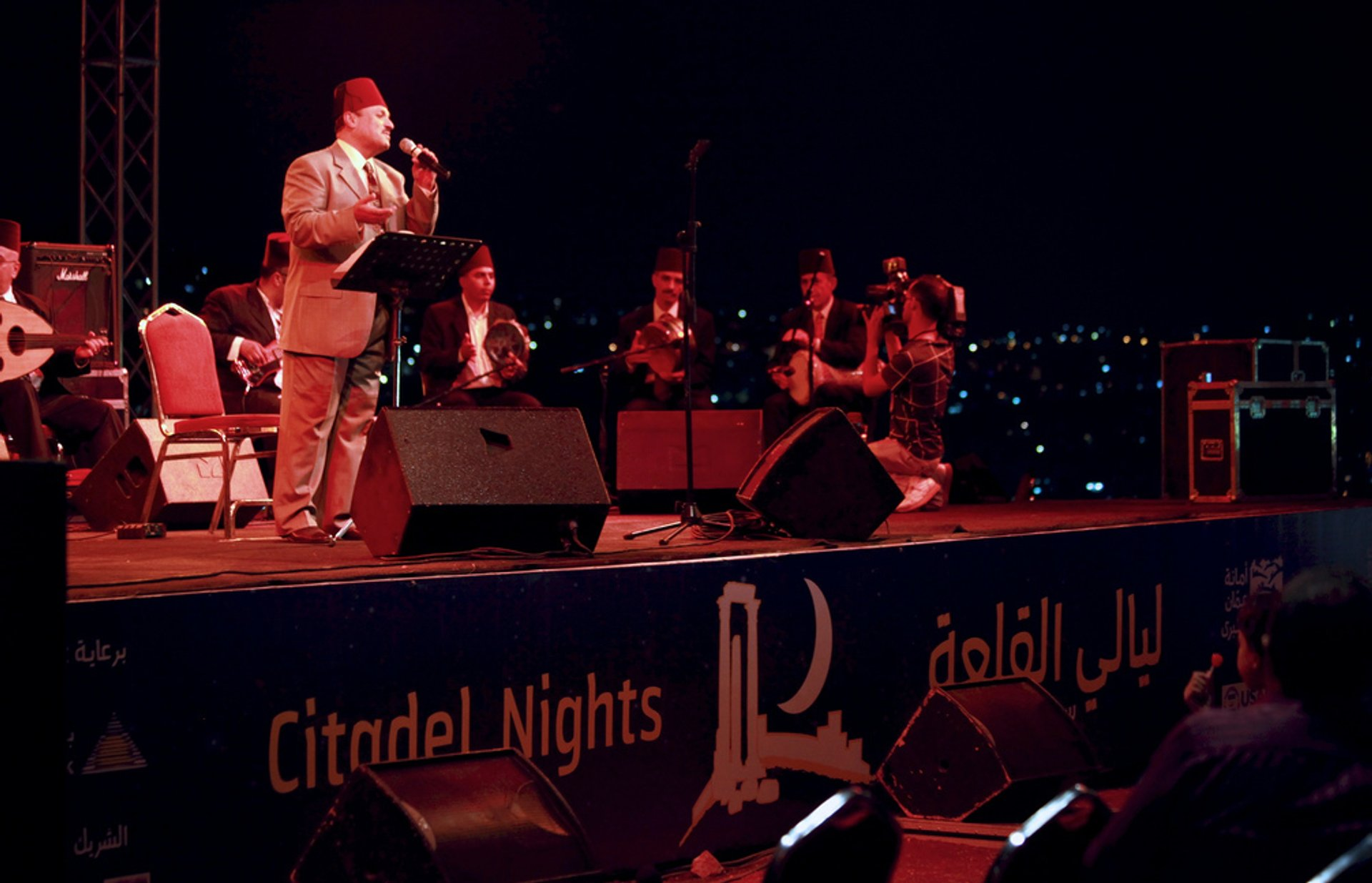 Citadel Nights in Jordan - Best Time